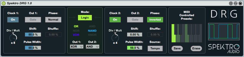 DRG | Dual Rhythm Generator