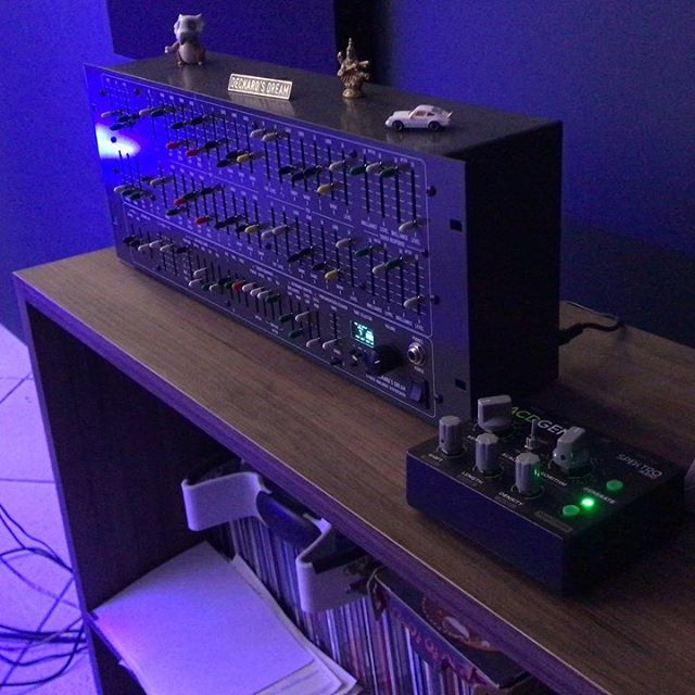 ACDGEN Hardware Edition + Deckard's Dream. 🦄🎛🎚 While the most common use case for ACDGEN is to use it to generate basslines algorithmically, it's also capable of creating beautiful melodies that work wonderfully with synths like the Deckards Dream by @blackcorporation_jp. The different algorithms in ACDGEN can create different styles of melodies that can be used in different music contexts.  We're still making our way through the second batch of ACDGEN – Hardware Edition so, if you'd like to get a unit, please get in touch!  For more information about ACDGEN, visit http://spektroaudio.com/acdgen-hardware-edition ACDGEN is also available as a Max for Live device at http://spektroaudio.com/acdgen!  #acdgen #midi #algorithmic #generativemusic #ambient #deckardsdream #synth #synthesizer #studio #proaudio #analogsynth #bladerunner #blackcorporation #spektroaudio #sequencer #musicproduction