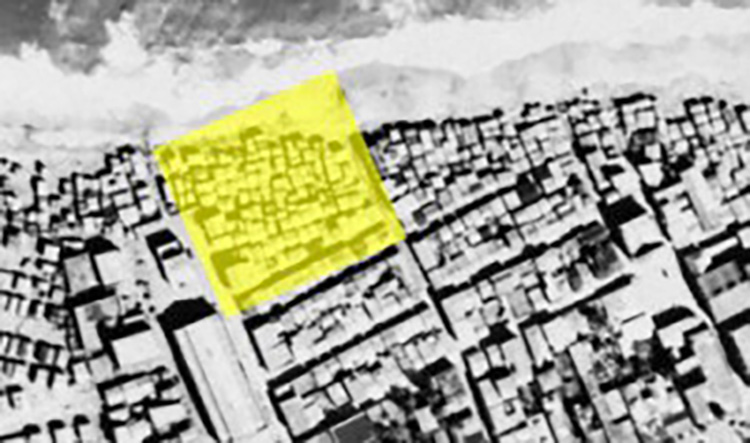 "Figura 2: Detalle de ""Arecibo"". (Porto Rico 1930 Aerial Image Database)."