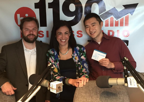 Check out our talk on  The Dana Barrett Show  with Chris Klaus and Yale Zhang. Know a little bit more about our upcoming products and our involvement with NeuroLaunch.  Click here  to listen.