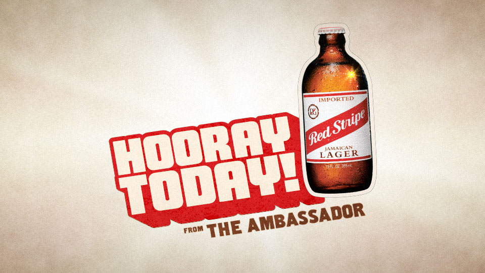 Red Stripe / The Ambassador Facebook Campaign