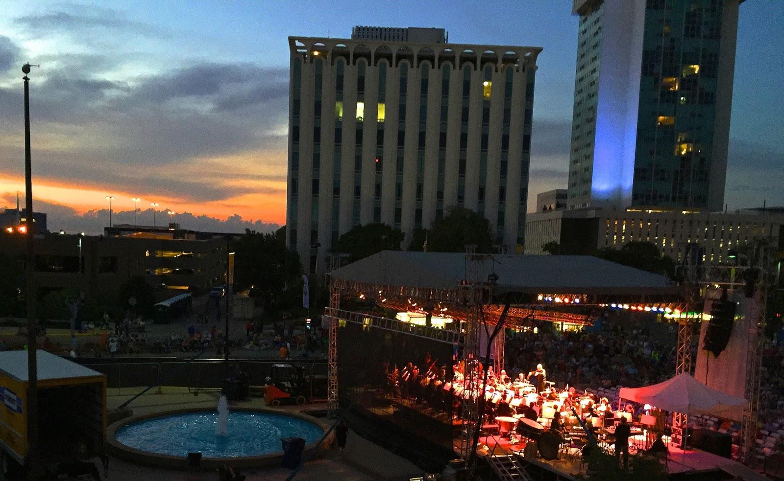Wichita Symphony Twilight Pops Concert at the Wichita River Festival