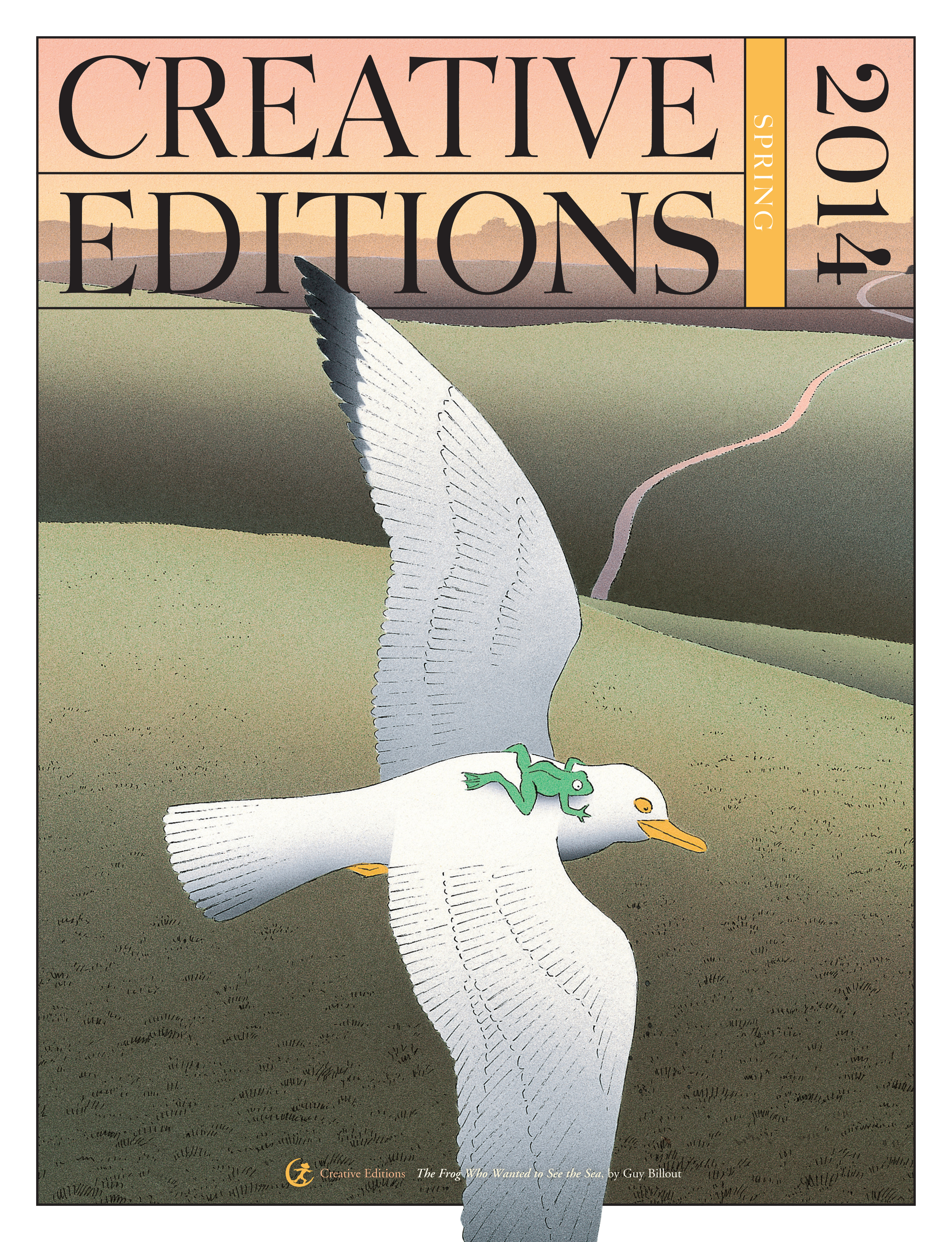 Creative Editions Spring 2014 catalog cover