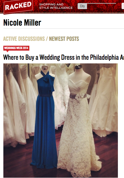 Nicole Miller: Where to But a Dress in Philadelphia