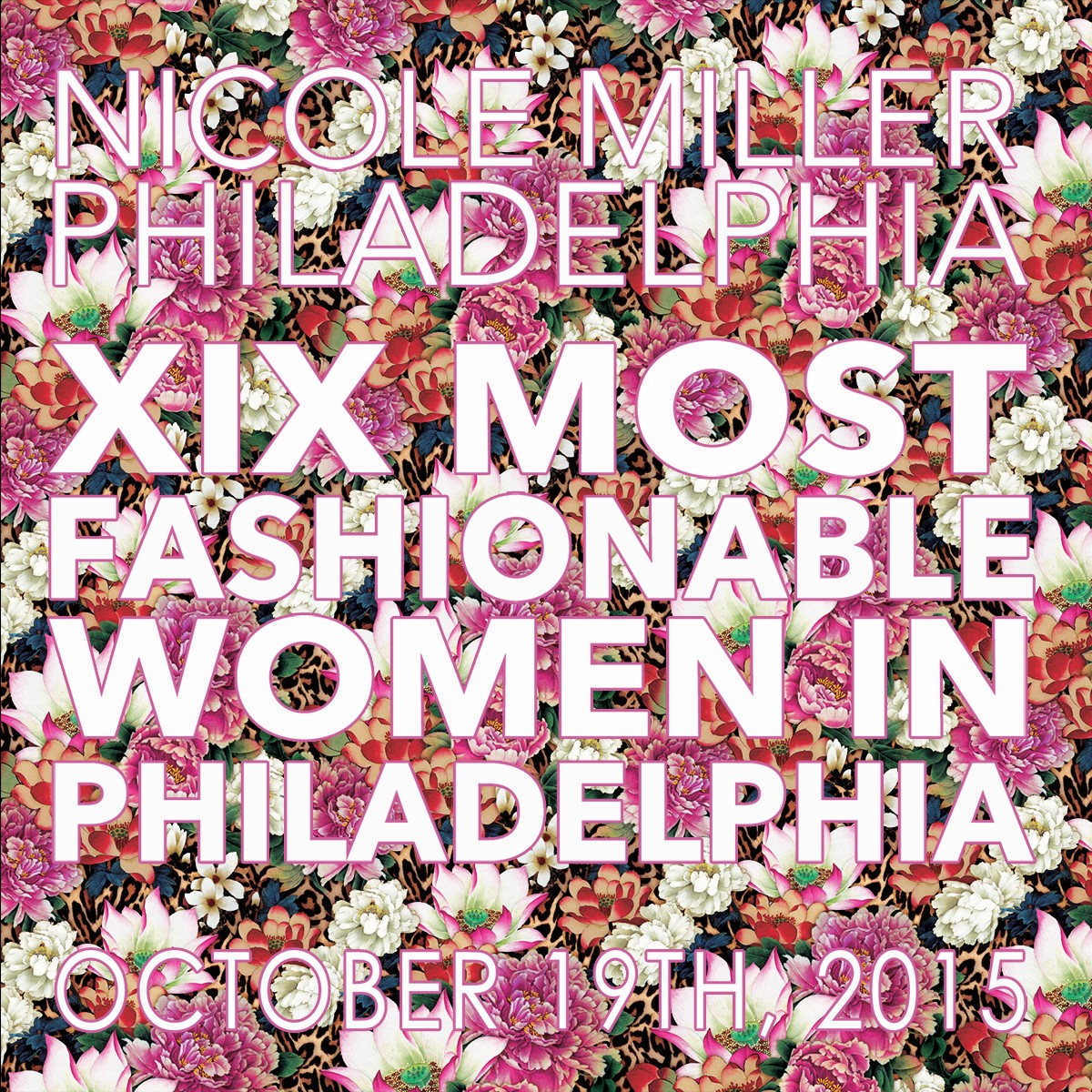 """The exclusive XIX Women designer event honors women not only for their individual sense of style, but also for their philanthropic dedication to Philadelphia and the surrounding community. The 2015 """"Visionary Award"""" will honor Restaurateur, Philanthropist, and Founder of FORK Restaurant, Ellen Yin, whose forward thinking ingenuity has shaped the future   fashionably  for Philadelphia."""