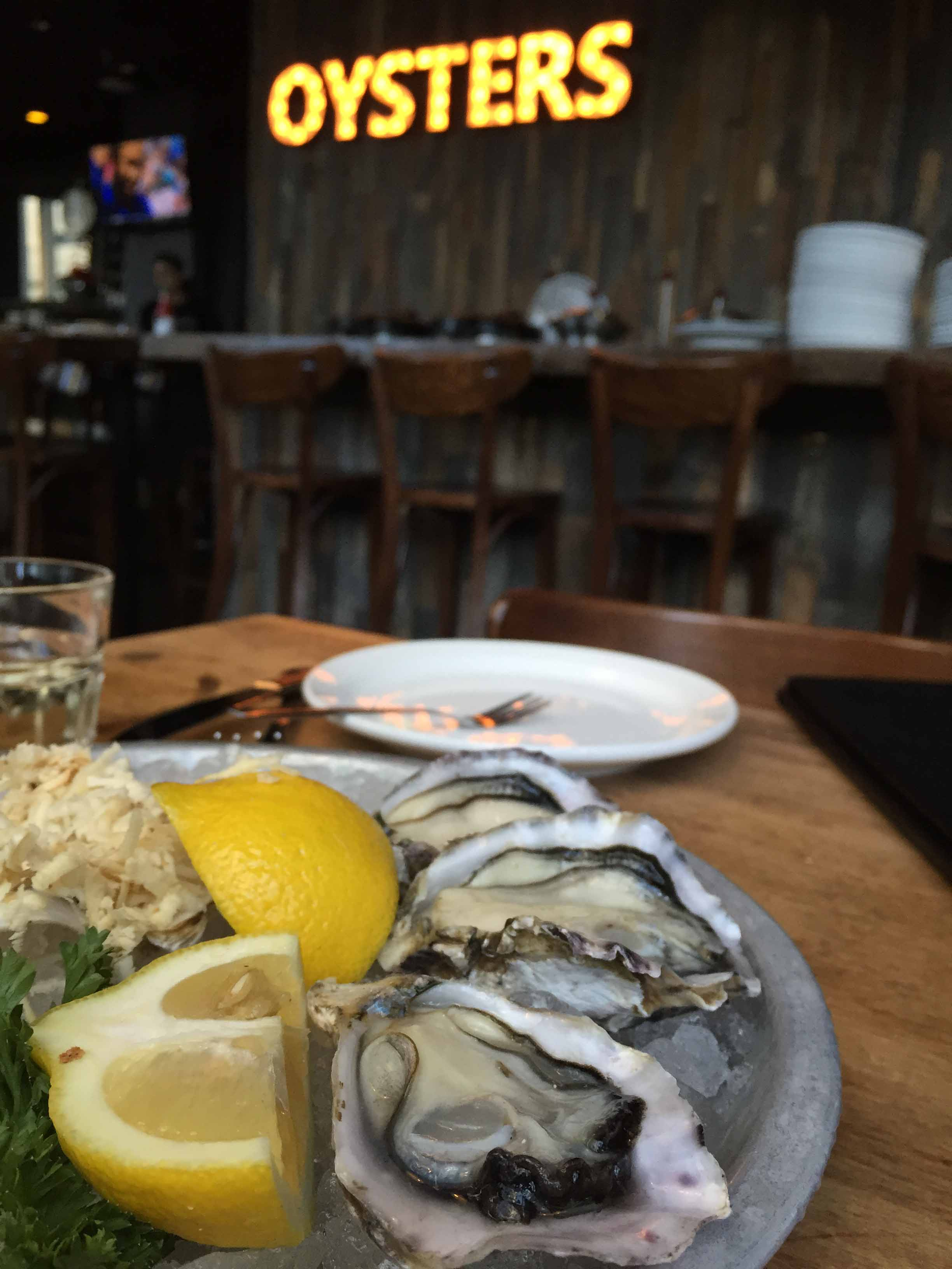 The Kaipara Oyster seen here freshly shucked at Chewies in Vancouver