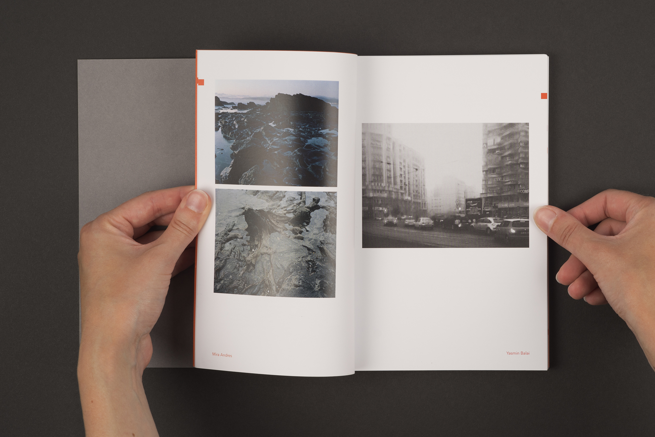 Index book for final year Documentary photography students at the University of South Wales.Photography by Mira Andres and Yasmin Balai.