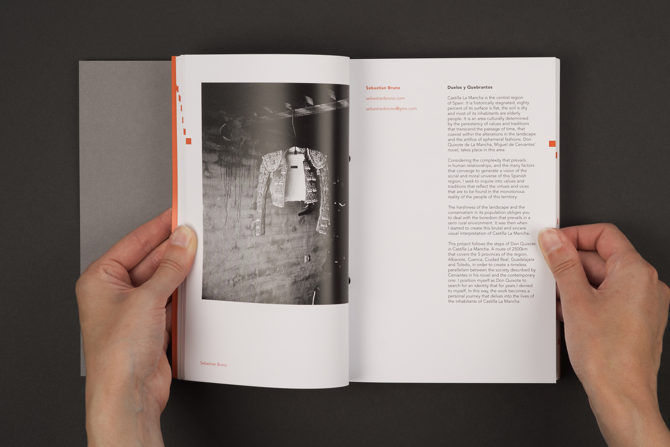 Index book for final year Documentary photography students at the University of South Wales. Photography by Sebastian Bruno.