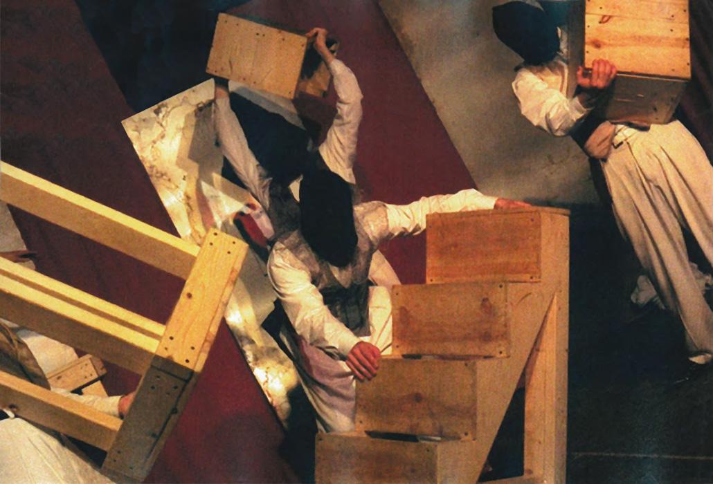 The conspirators, played byRussell Hardin, Rick Kubes, Kelly Van Kirk,Jonathan Watkins