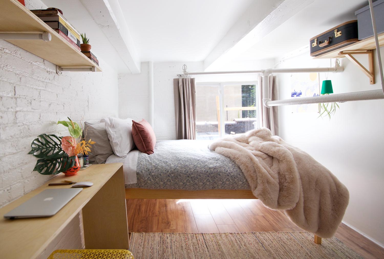 Interior Design Loft Bedroom 1 Kristina Zmaic Studio
