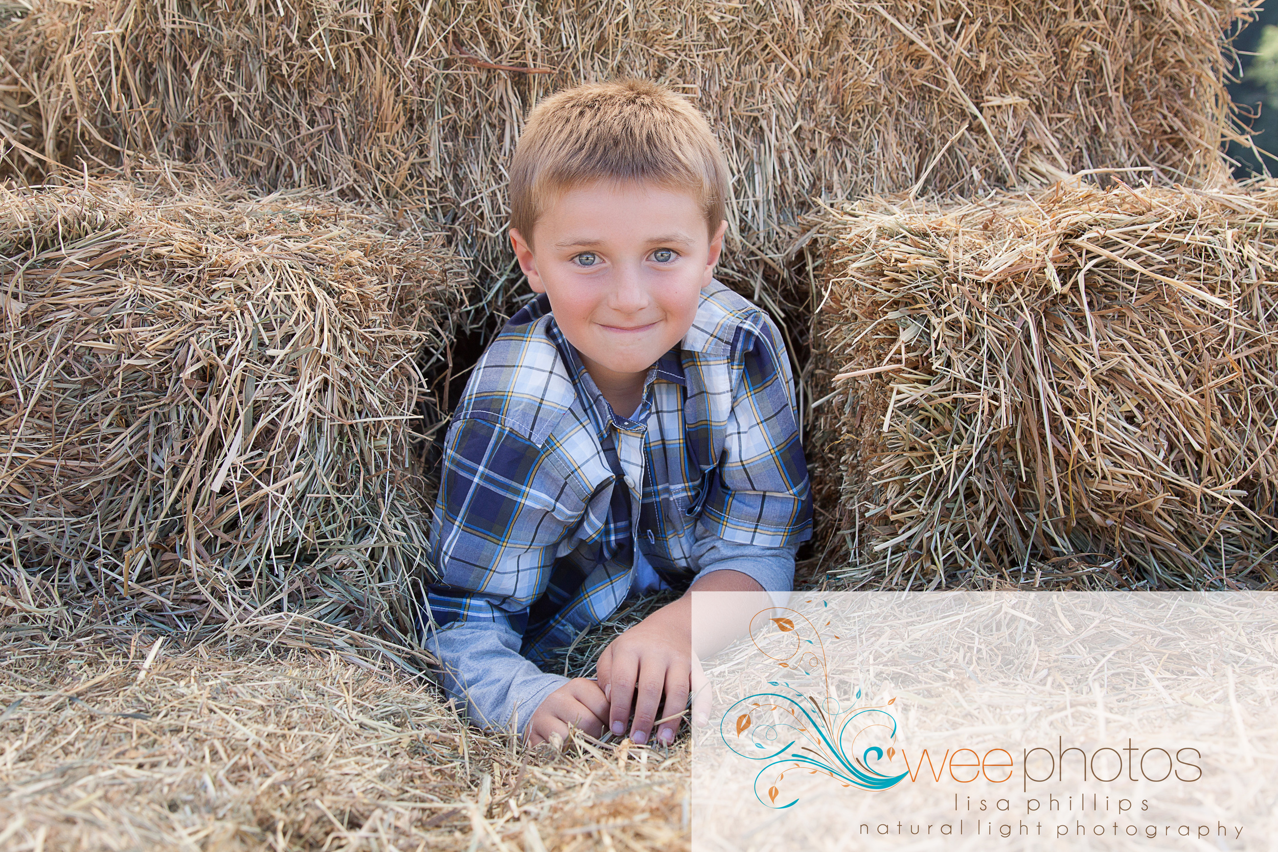 Fun in the Hay Stack!