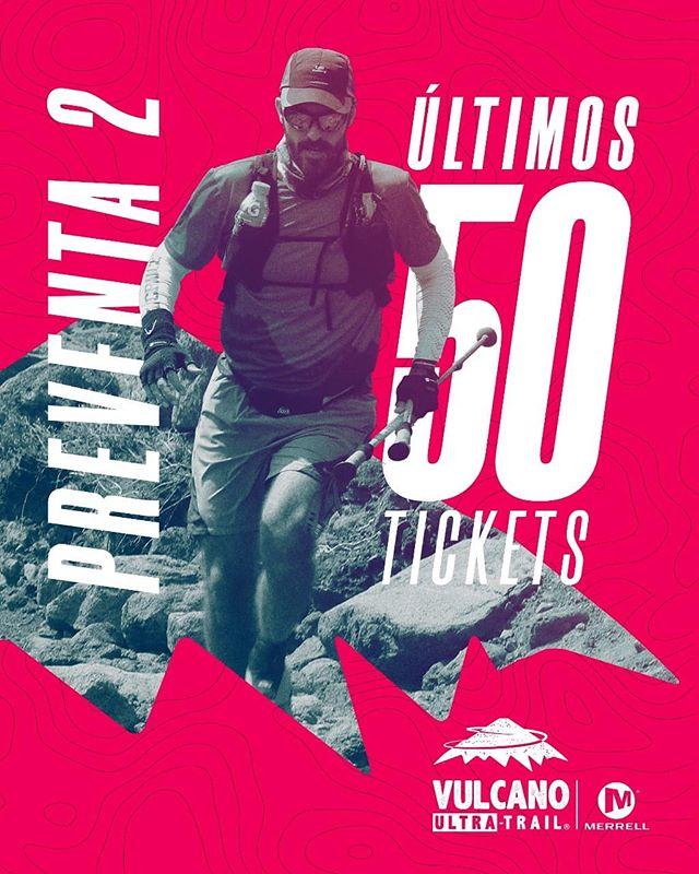 🚫¡Pronto cerramos Merrell VUT! Últimos 50 tickets en Preventa2 + 200 tickets en Preventa Normal!! ⚡Apúrate y Súmate a Vulcano antes que se acaben!! vulcanoultratrail.com y welcu.com