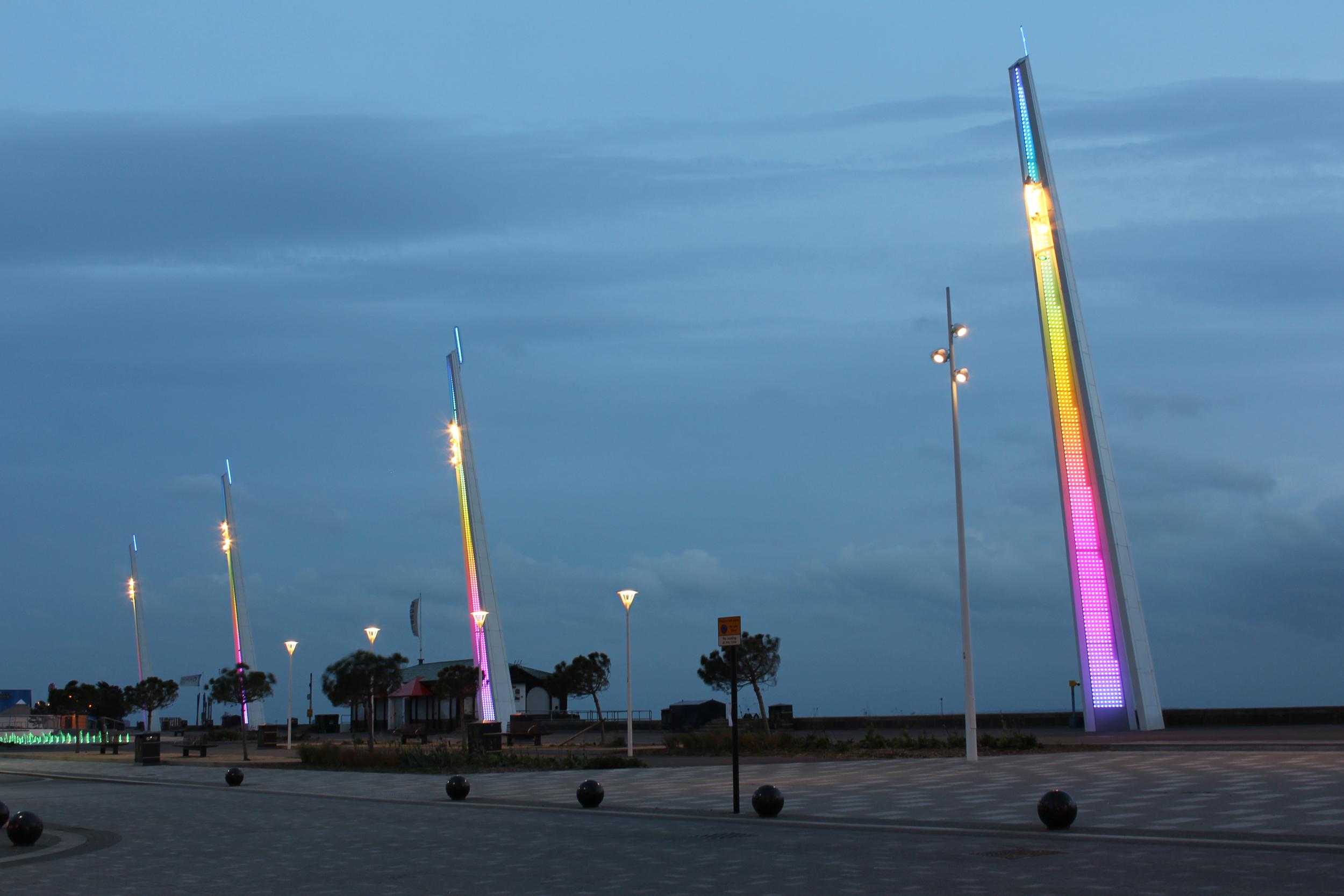 Pinniger Lighting Design  /  Southend-On-Sea City Beach 2011