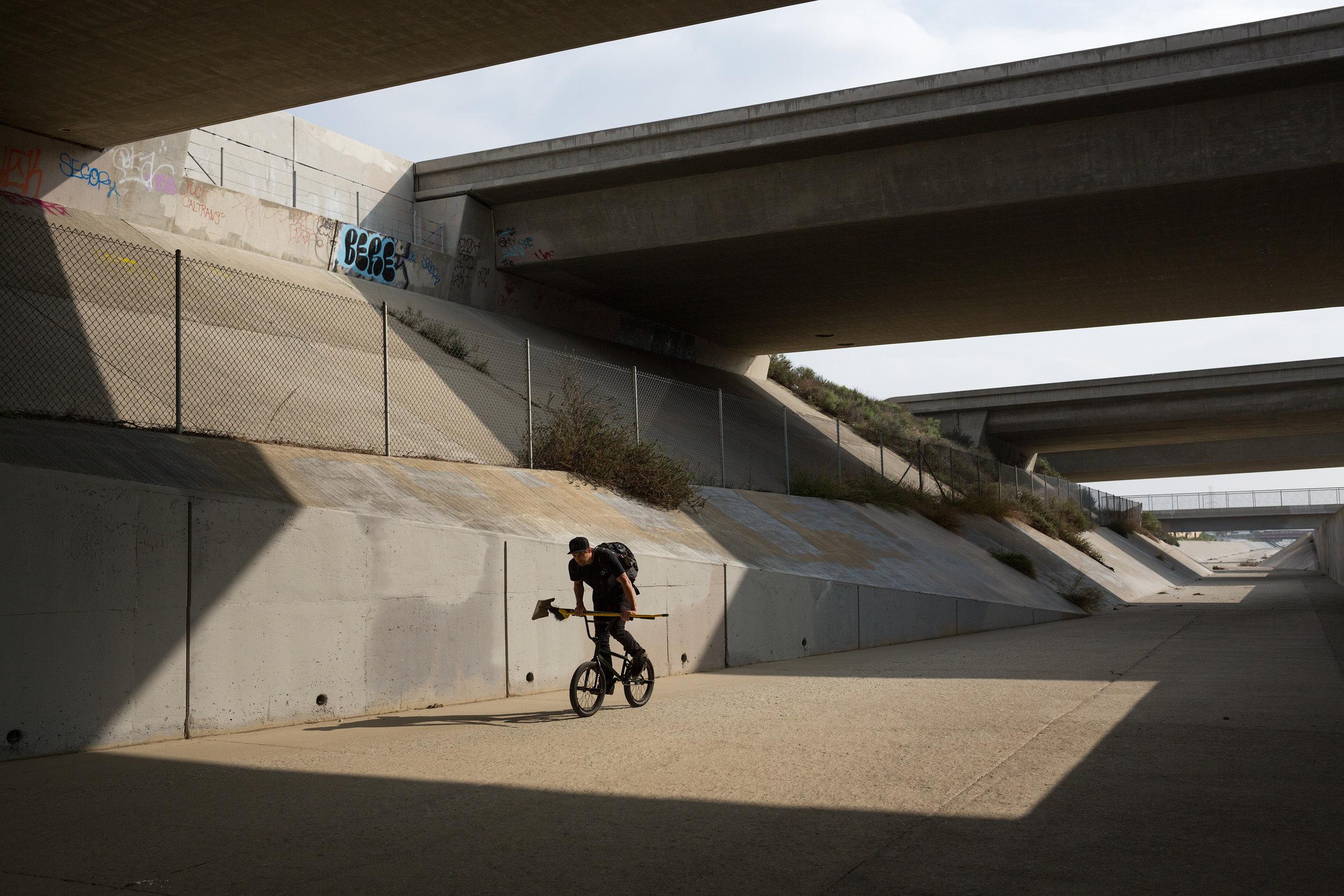 Jason Enns BMX California