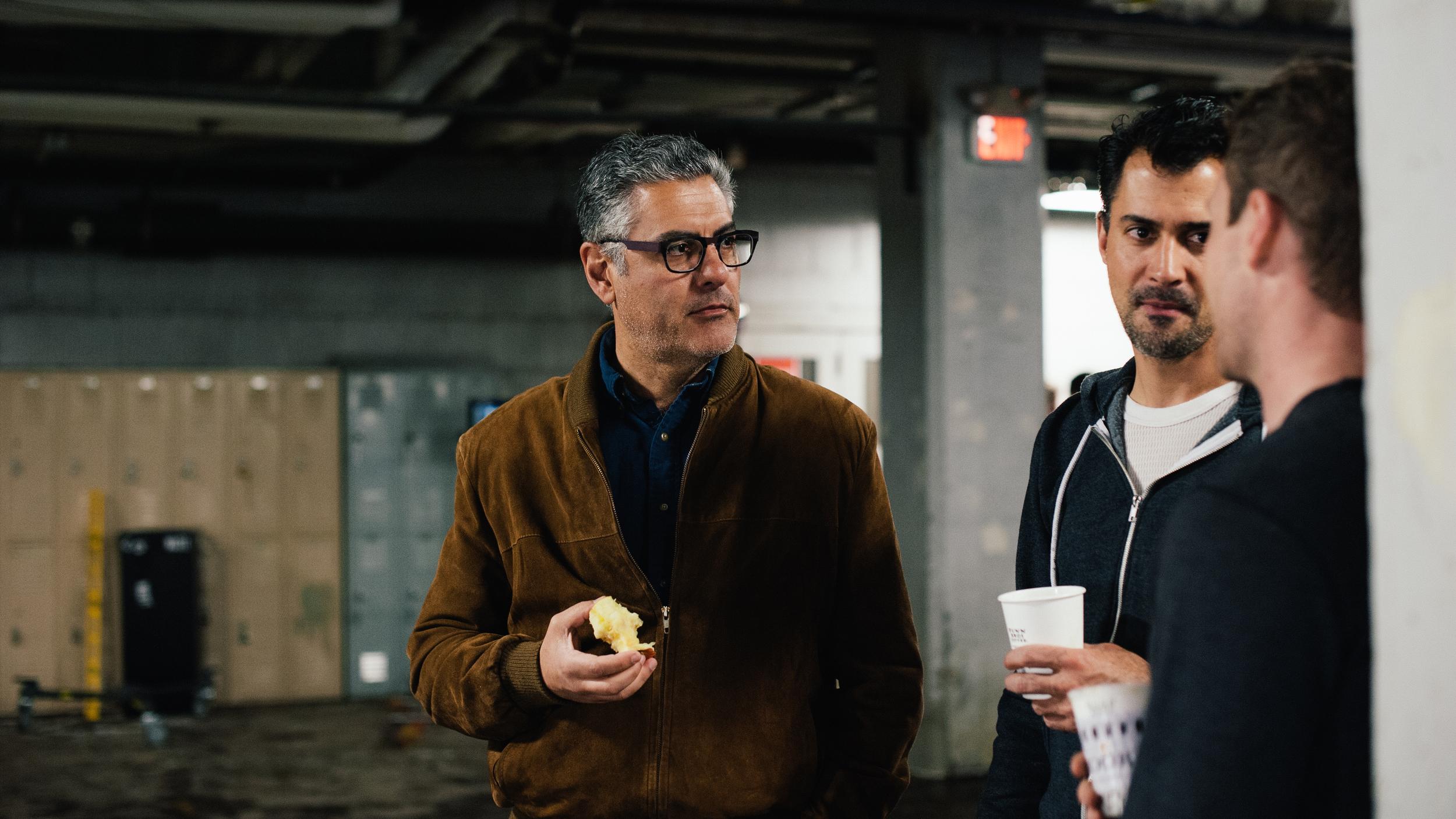Producers Michael Jurayj and Aaron Courteau