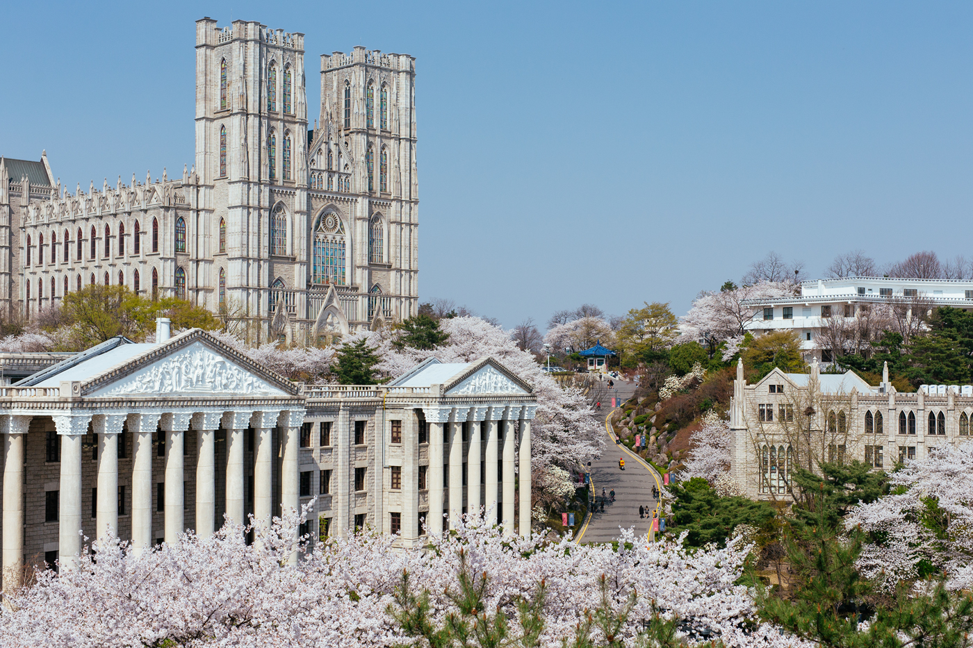 Spring in Seoul: Kyunghee University (경희대학교) in Seoul, South Korea.