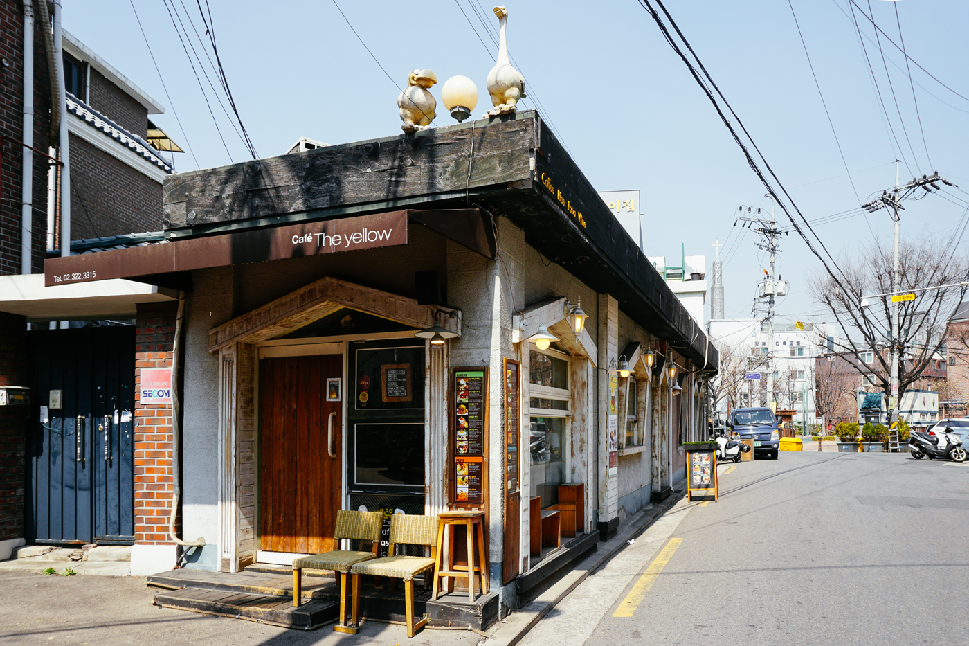 Seoul Restaurant Series:Cafe The Yellow (더엘로우),Yeonnam-dong (연남동), Seoul, South Korea.