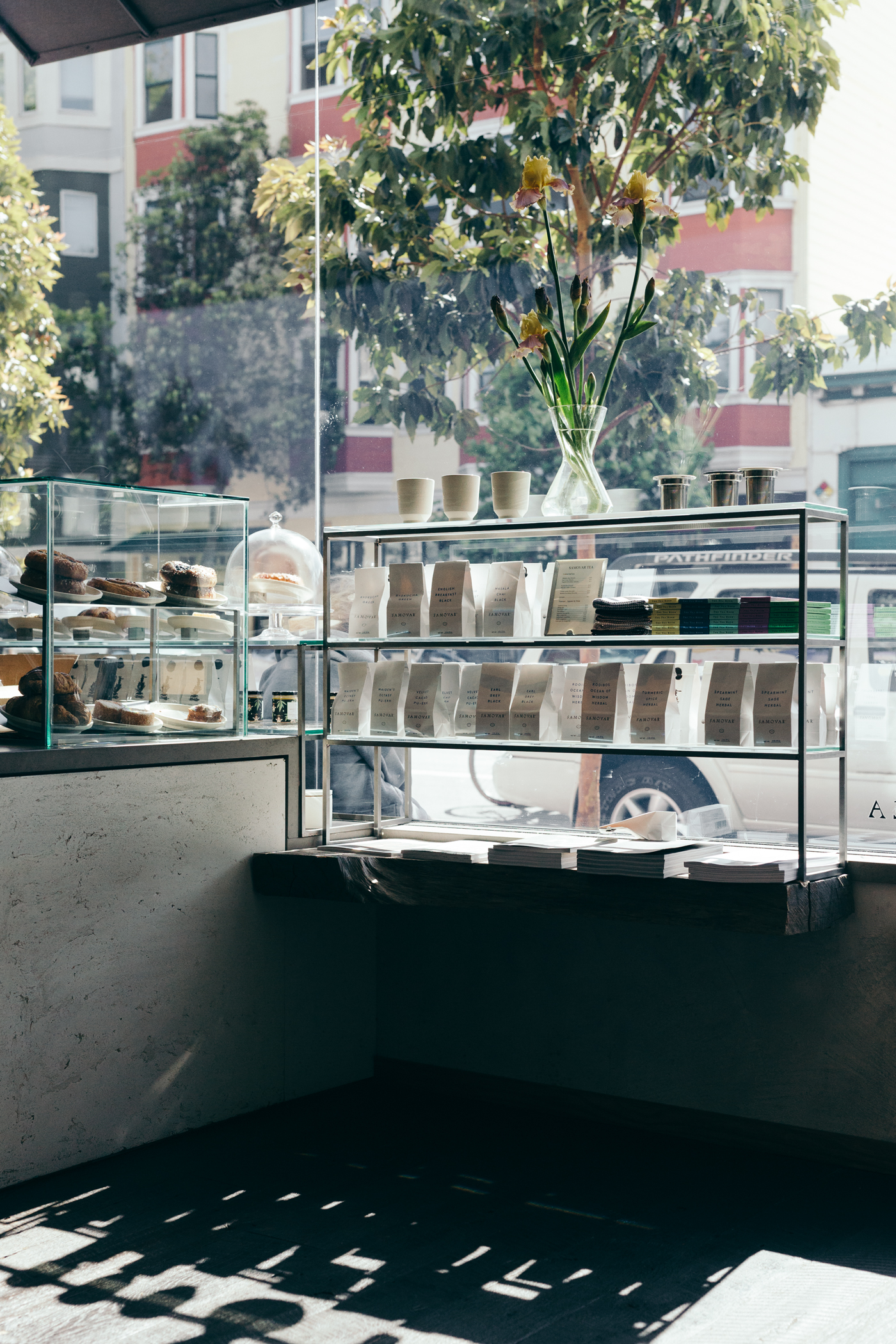 Greysuitcase Cafe Series: Samovar Tea Bar, San Francisco, California.