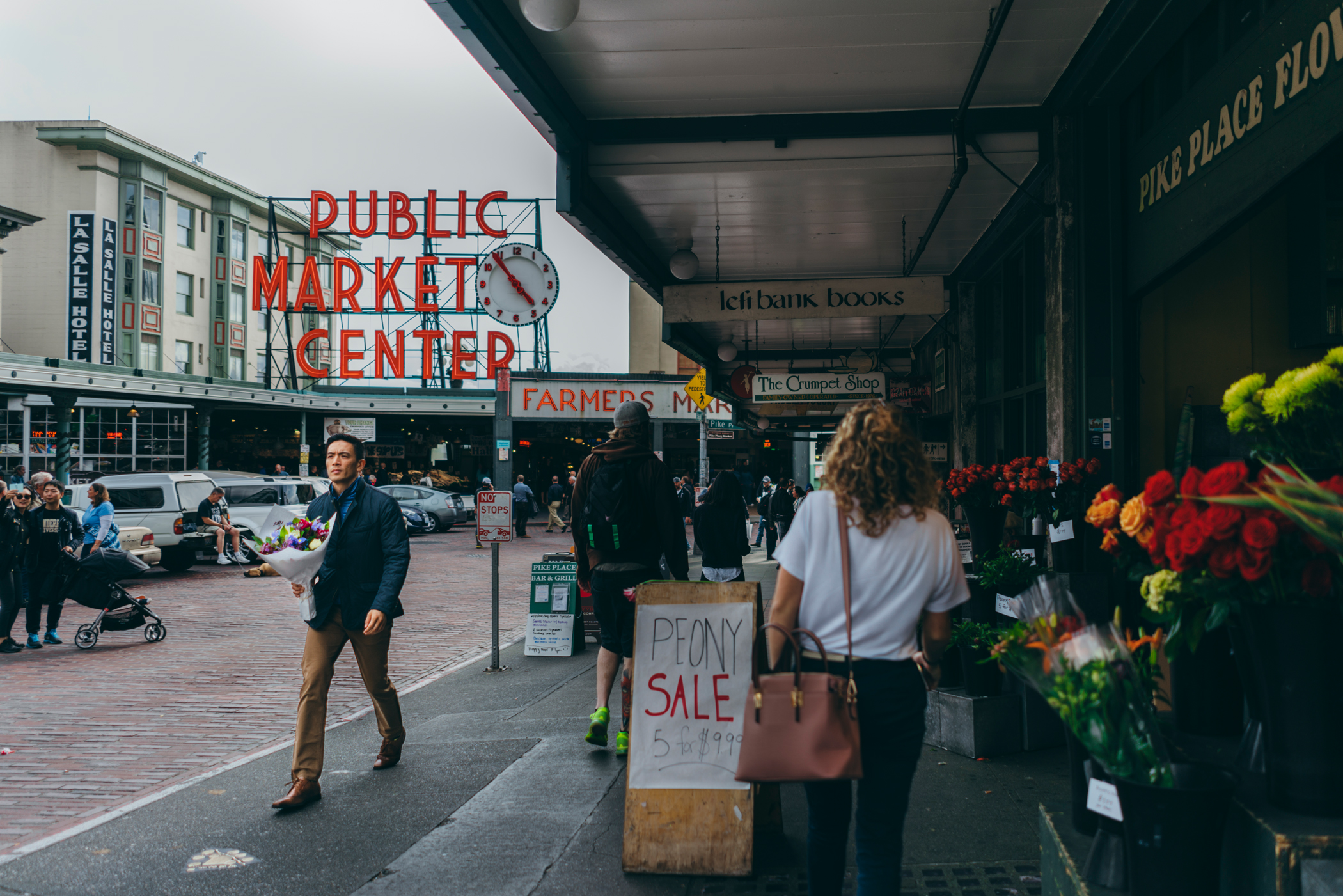 Travel Diary: Pike Place Market, Seattle, WA