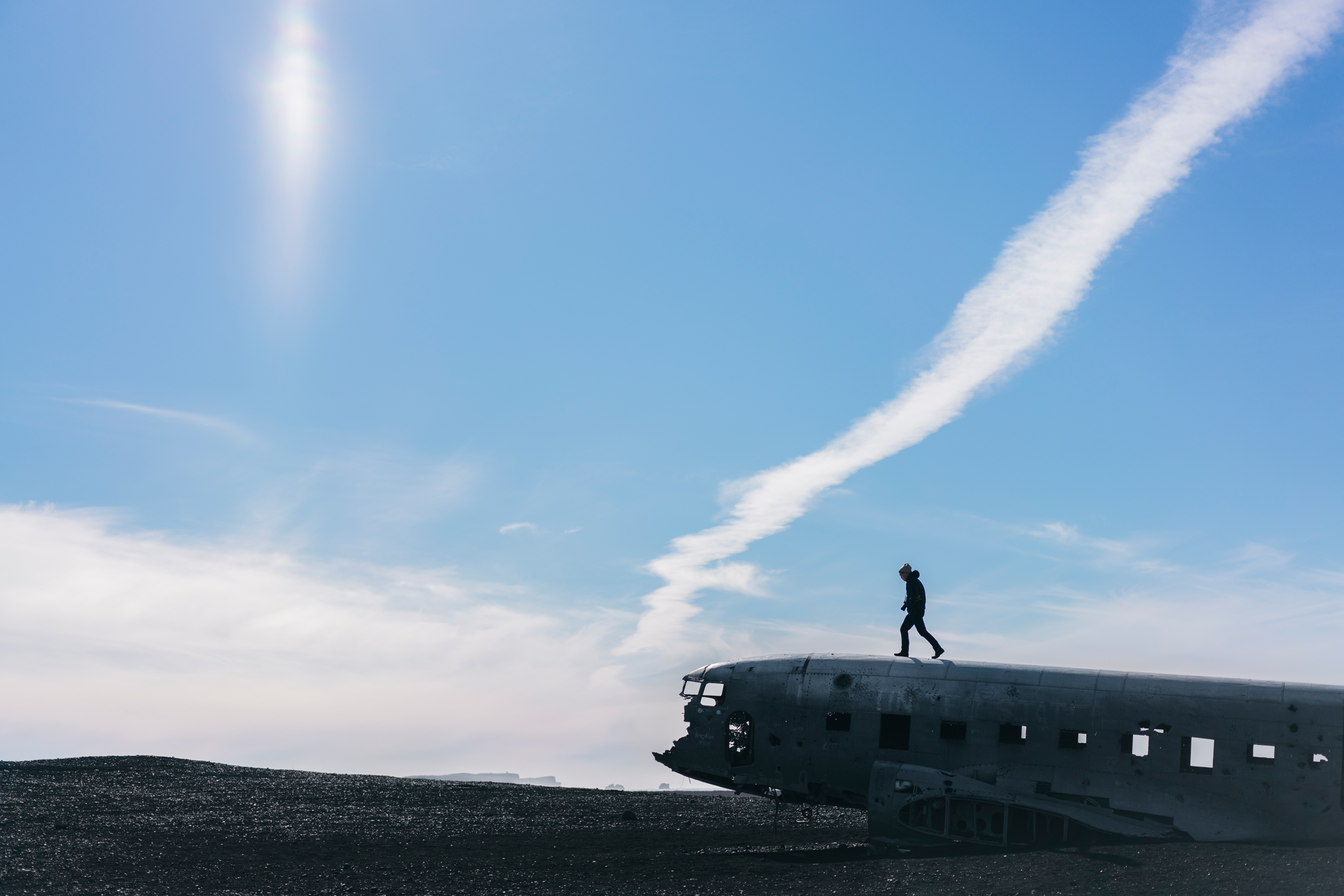 Iceland Travel Diary: The abandoned DC plane, Sólheimasandur, Iceland