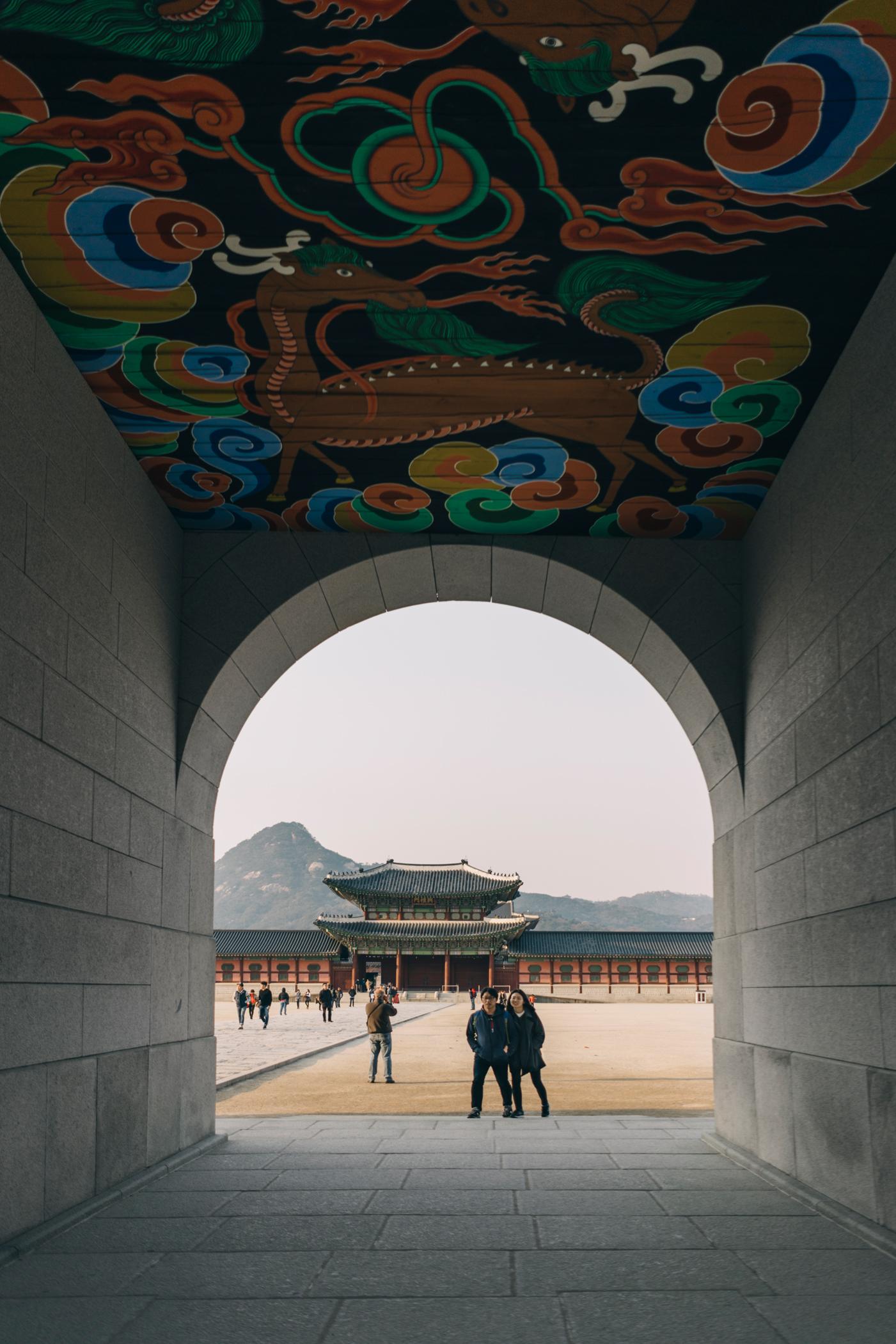 Grey Suitcase Seoul Series: Gyeongbokgung (경복궁), Seoul (서울), South Korea.