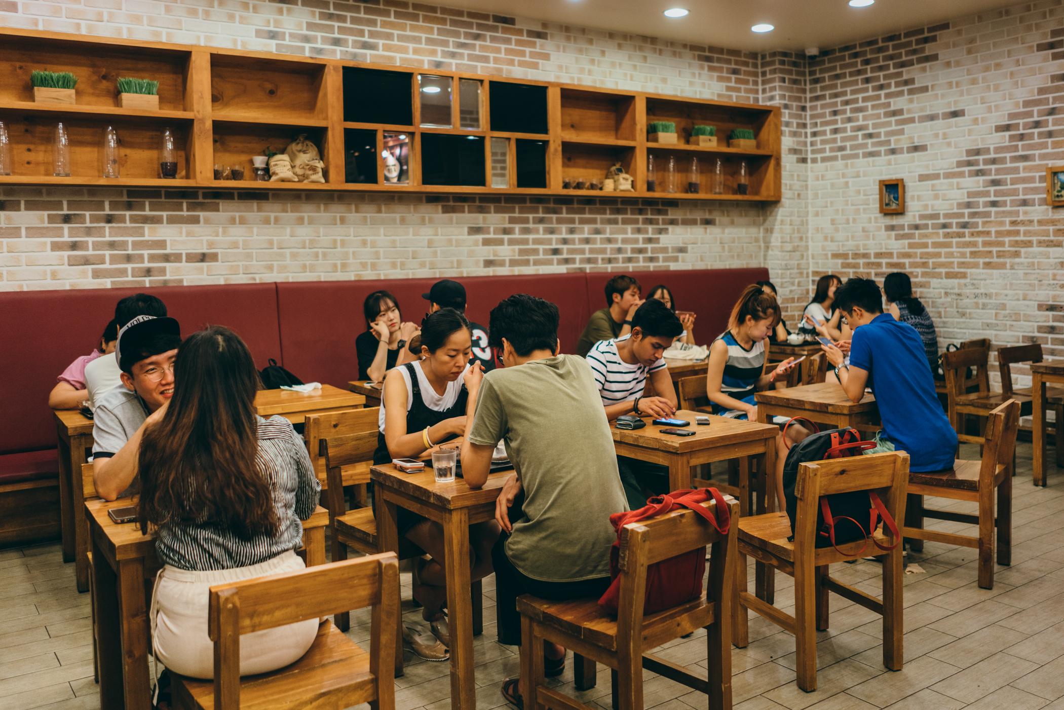 Greysuitcase Seoul Cafe Series: Homilbat (호밀밭), Sinchon (신촌), Seoul, South Korea.