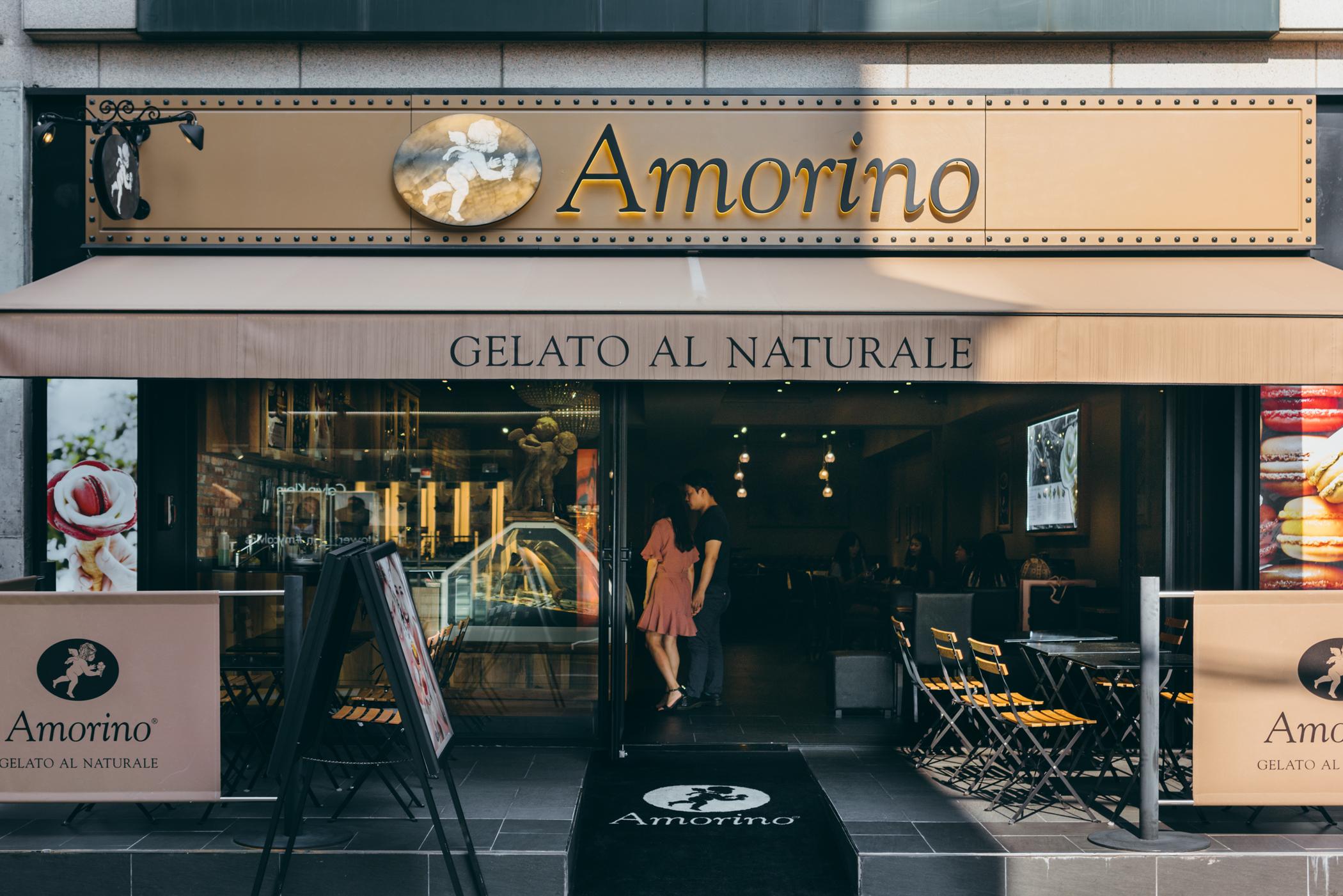 Greysuitcase Seoul Cafe Series: Amorino (아모리노), Garosu-gil (가로수길), Seoul, South Korea.