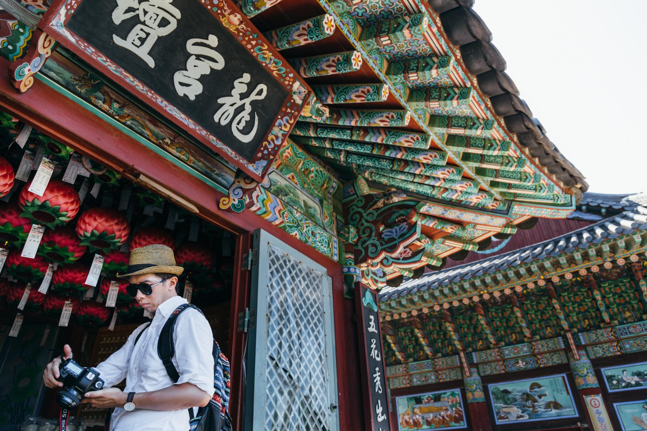 Greysuitcase Busan Series: Haedong Yonggungsa (해동 용궁사),Busan (부산), South Korea.