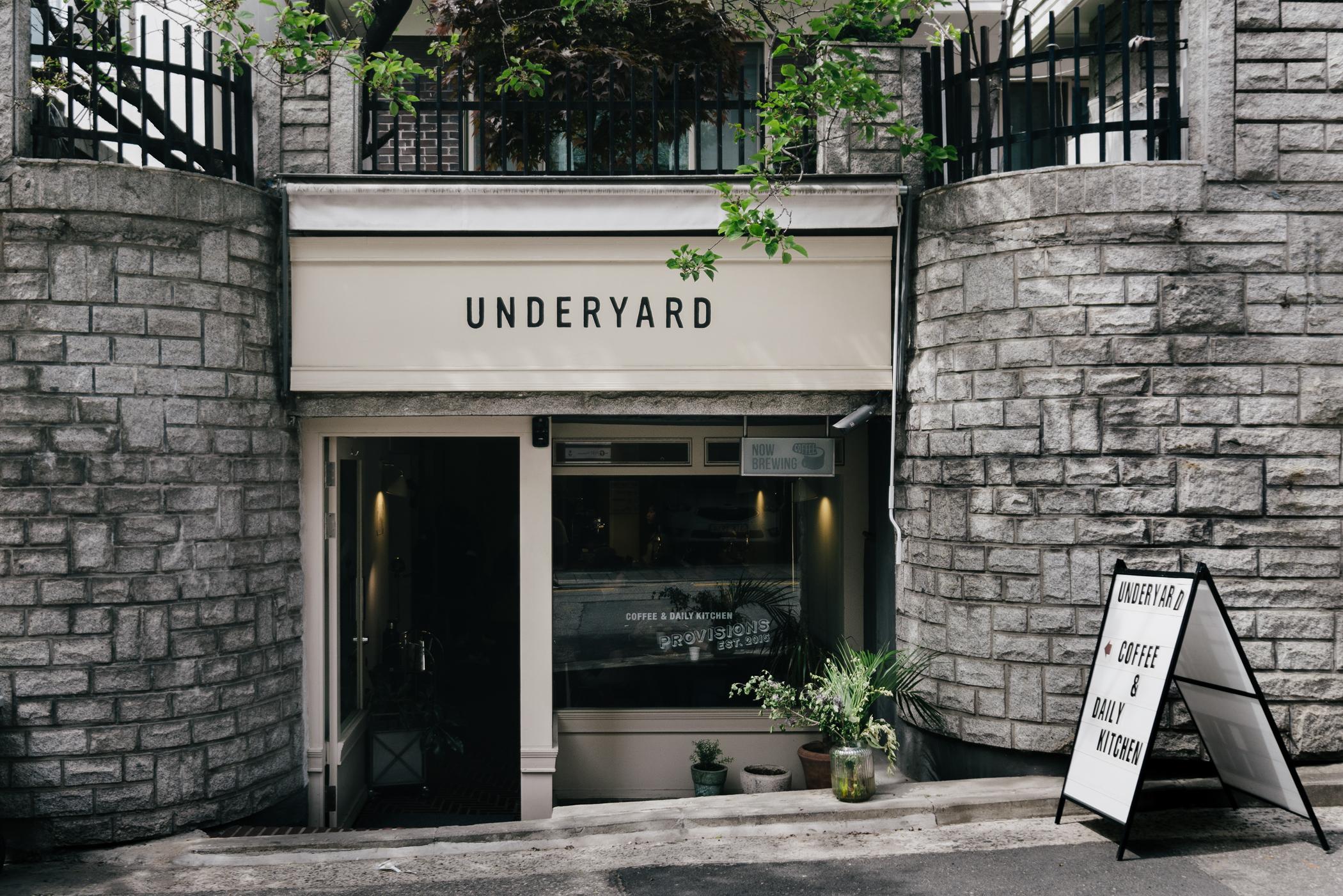 Greysuitcase Seoul Restaurant Series: Underyard (언더야드), Gangnam (강남), Seoul, South Korea.