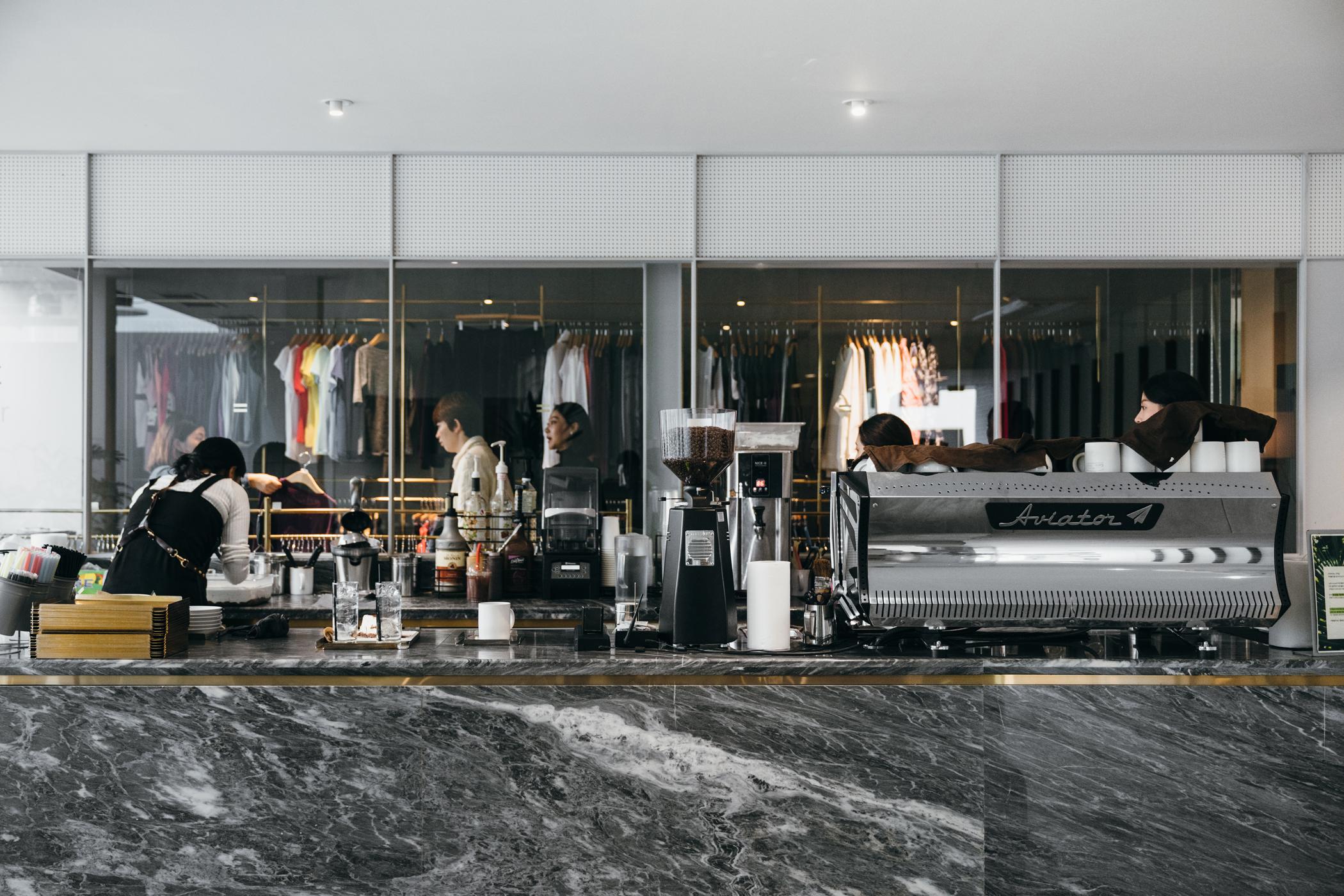 Greysuitcase Seoul Cafe Series: Cafe Mula (카페 뮬라), Garosugil (가로수길), Seoul, South Korea.