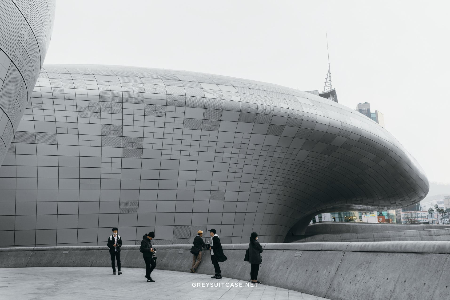Dongdaemun Design Plaza Travelouge Greysuitcase