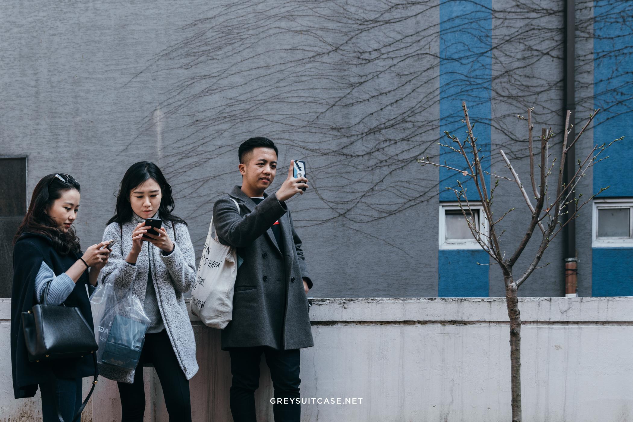Greysuitcase Travel Series - Seoul Spring '17 - Villa Soohyang, Garosugil (가로수길), Seoul, South Korea