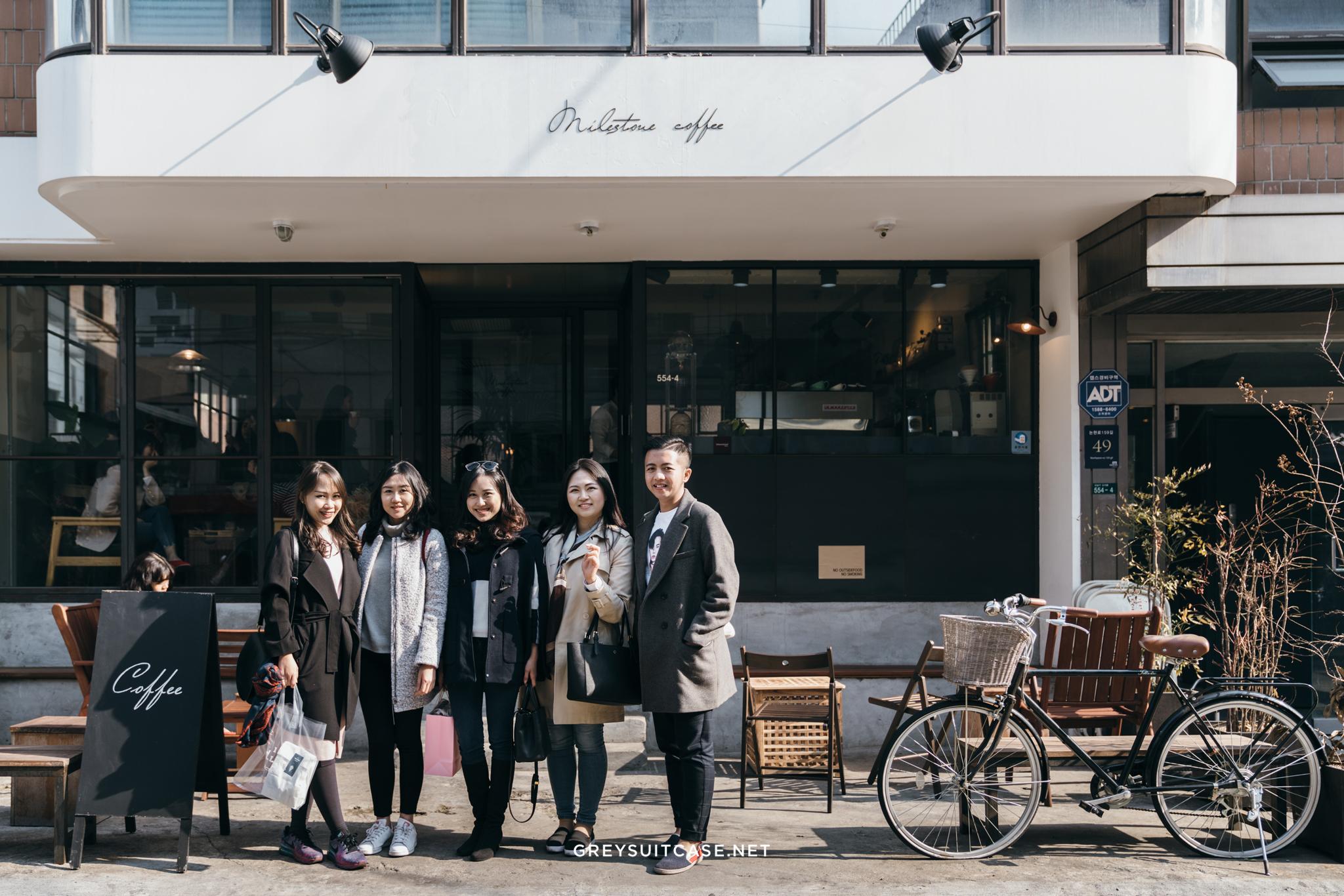 Greysuitcase Travel Series - Seoul Spring '17 - Milestone Coffee (마일스톤 커피), Garosugil (가로수길), Seoul, South Korea
