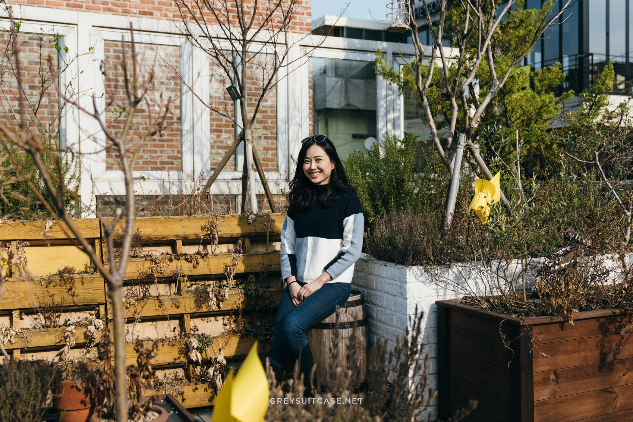 Greysuitcase Travel Series - Seoul Spring '17 - Skinfood Cafe, Garosugil (가로수길), Seoul, South Korea