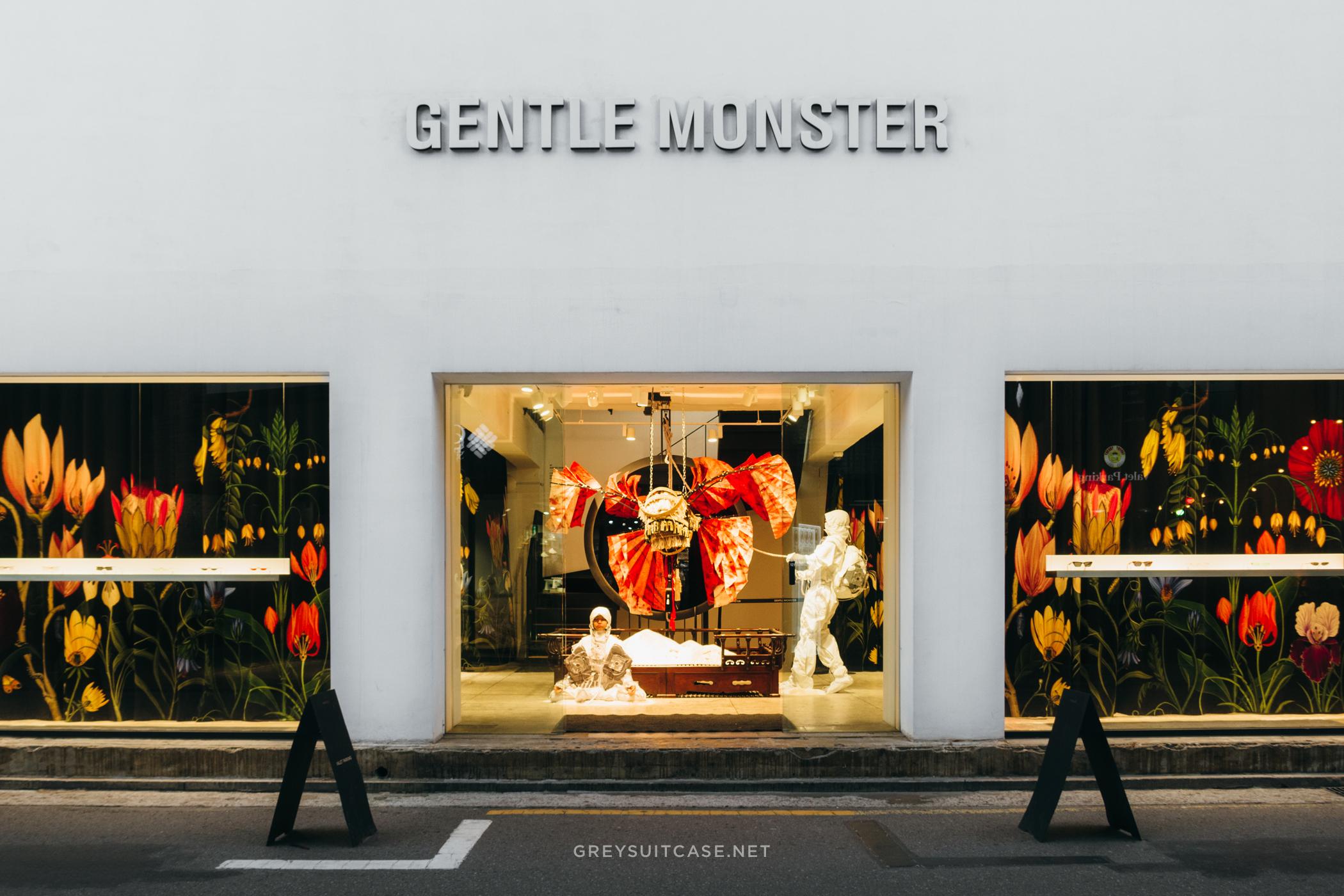 Greysuitcase Seoul Shops Series: Gentle Monster (젠틀몬스터 신사동 플래그십스토어), Garosugil (가로수길), Sinsa-dong (신사동) Seoul, South Korea.