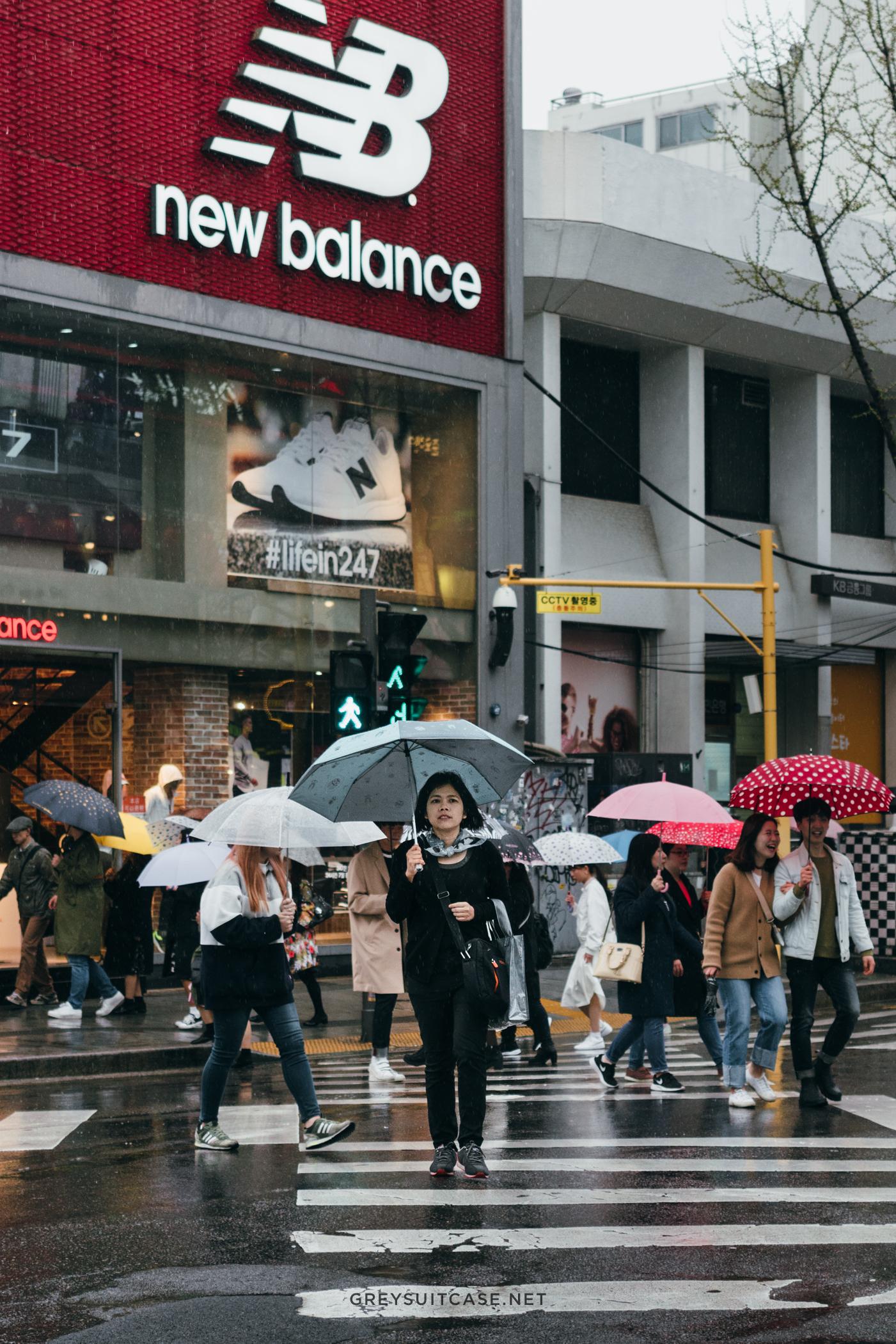 Greysuitcase Travel Series - Seoul Spring '17 - Rainy Day in Hongdae (홍대), Seoul, South Korea