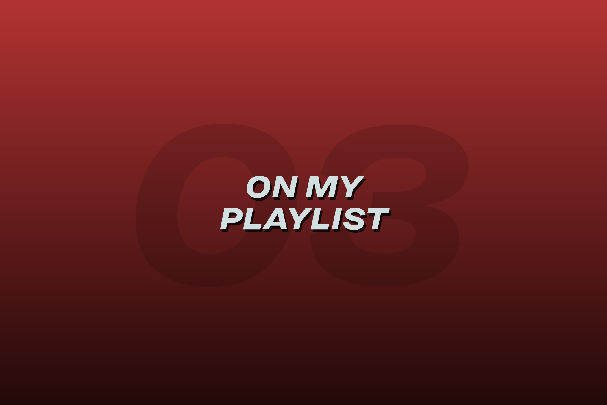 Greysuitcase - On My Playlist 03