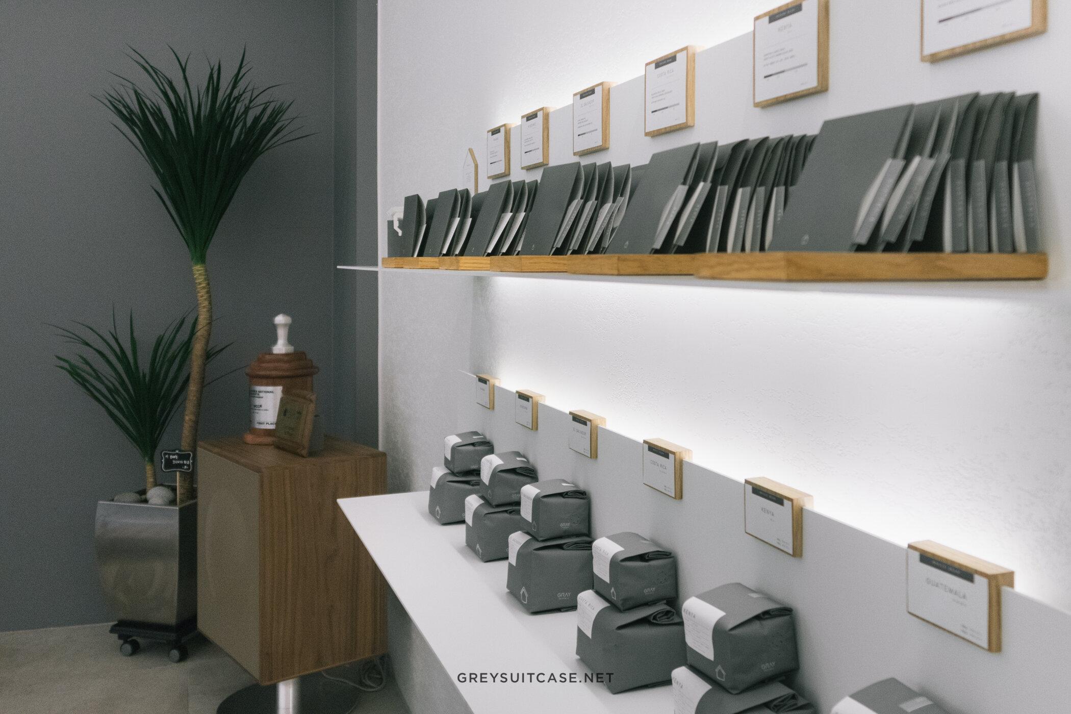 Greysuitcase Seoul Cafe Series: Gray Gristmill (그레이 그리스트밀), Garosugil (가로수길), Seoul, South Korea.