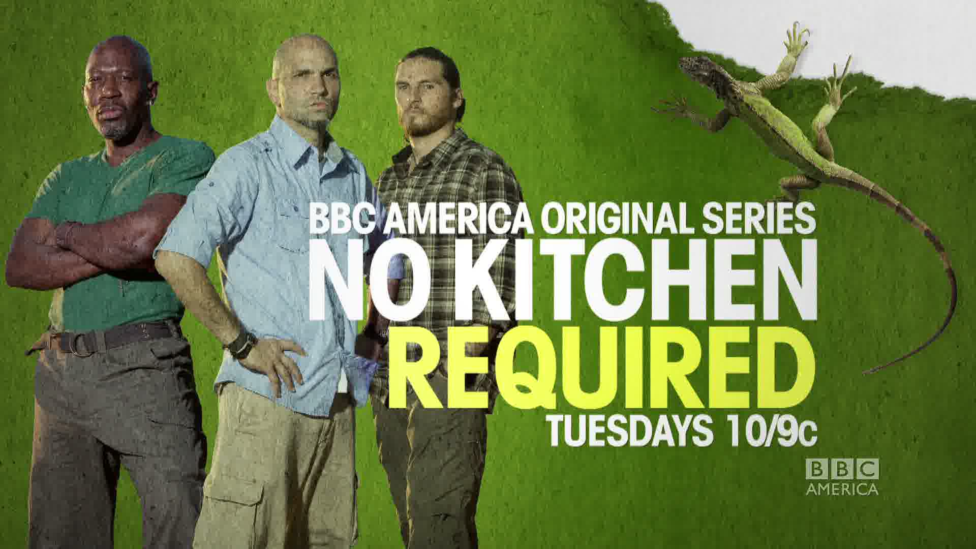 "BBC AMERICA — ""NO KITCHEN REQUIRED"""