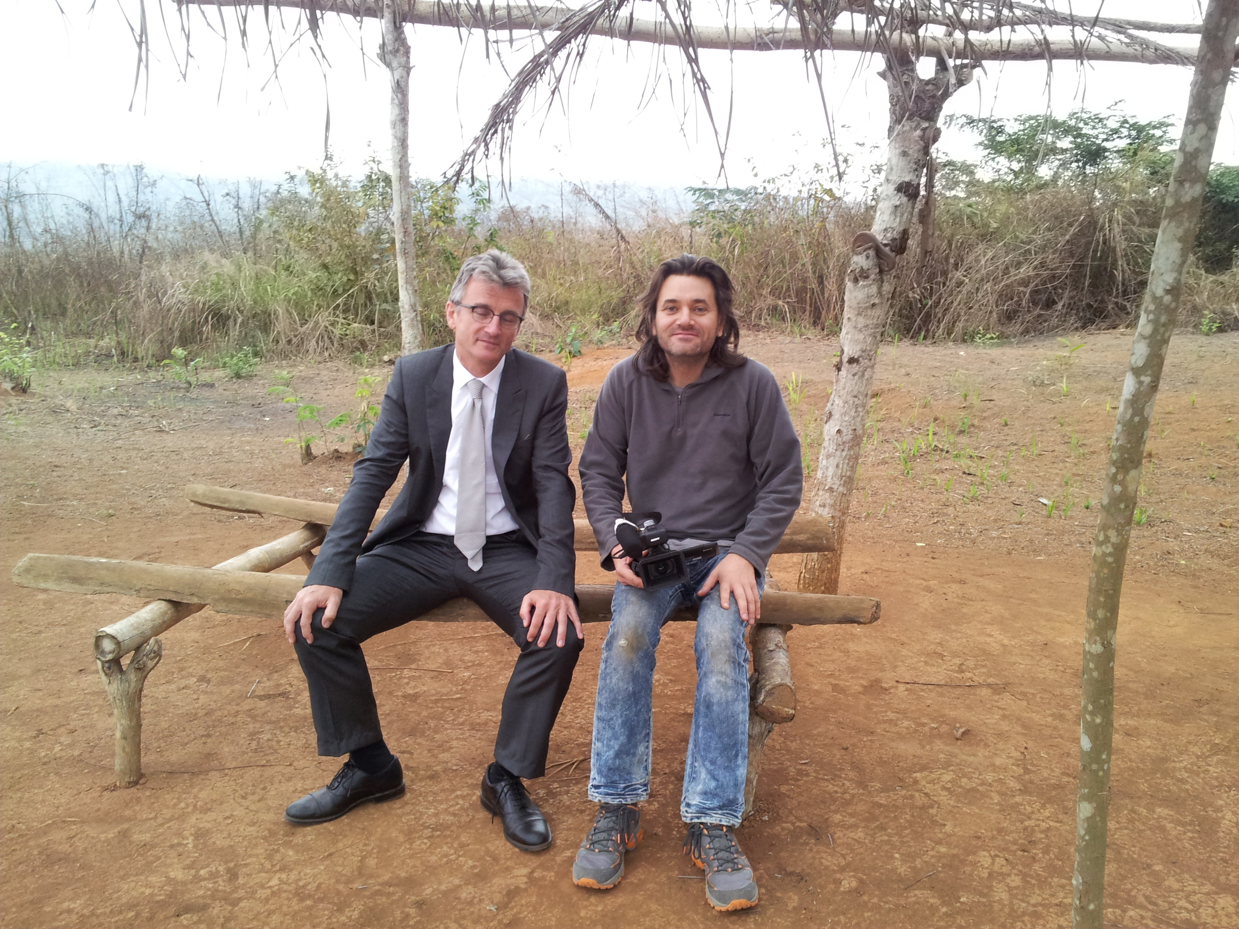 On location in the Congo