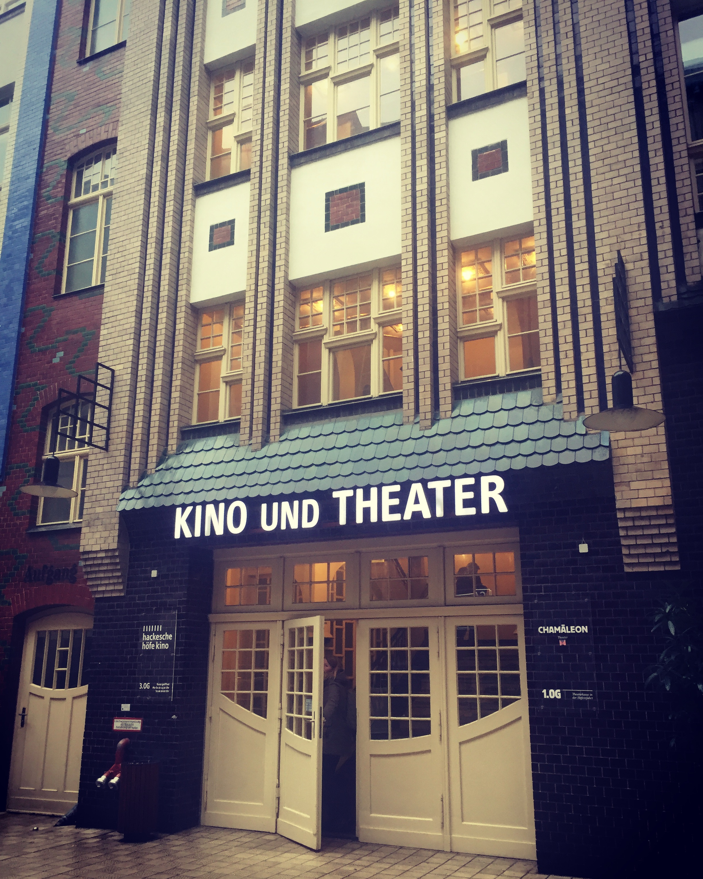 Kino Und Theater where Edie will play in Berlin during its cinema run