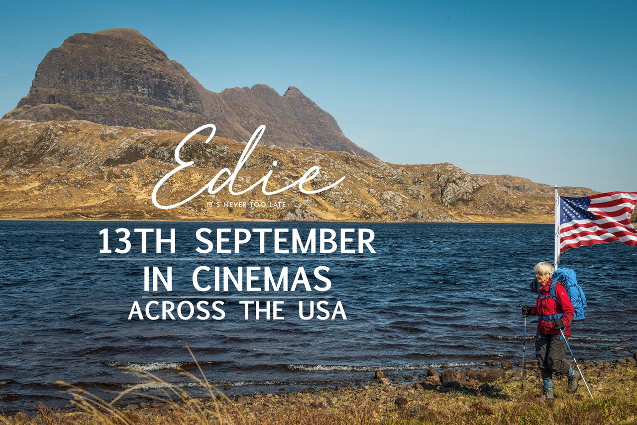 EDIE OPENS IN US CINEMAS ON SEPTEMBER 13th 2019
