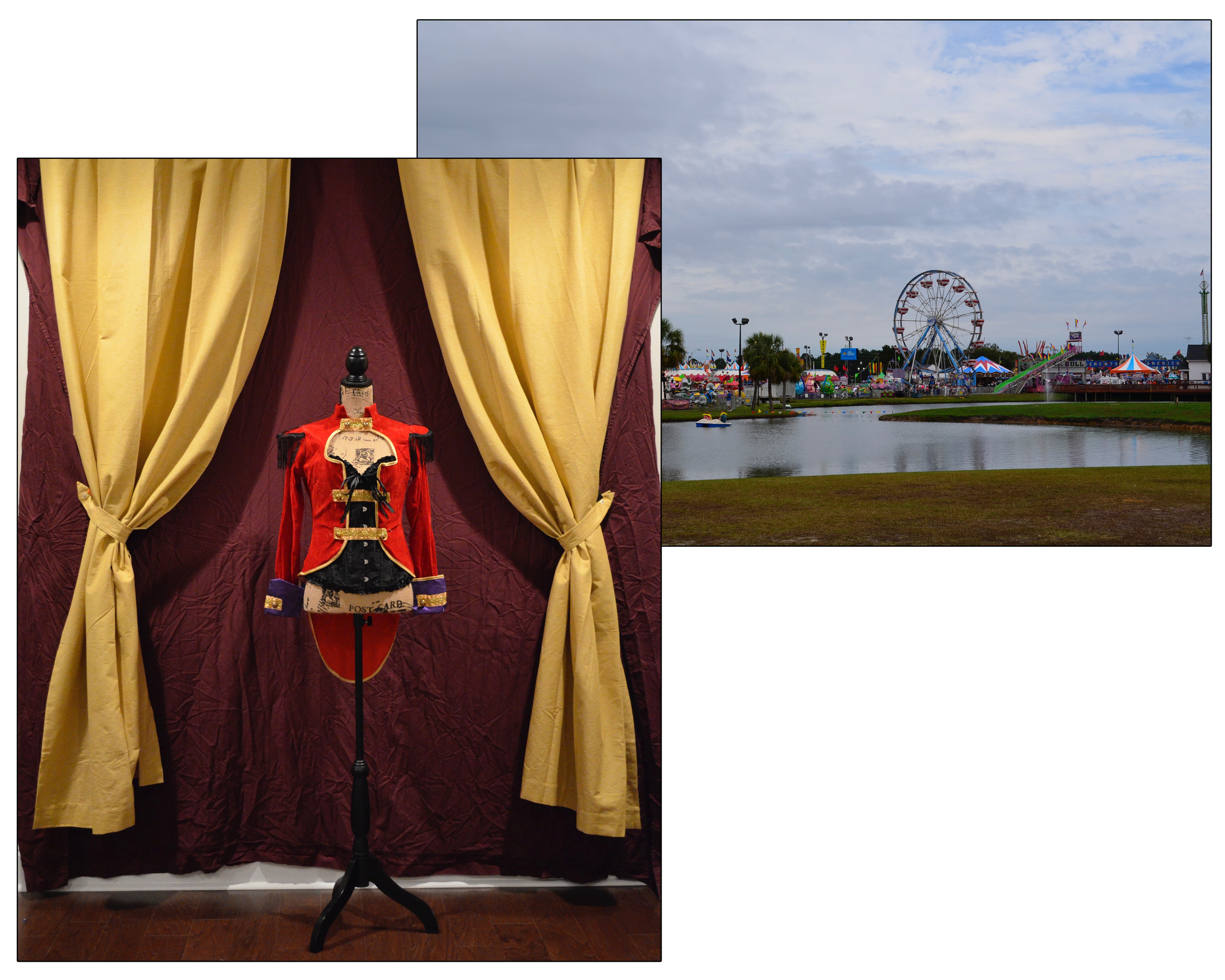 Background images used in the making of The Ringmaster.