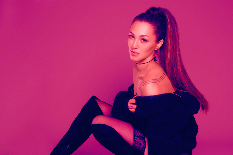 Ariana Grande style boudoir session