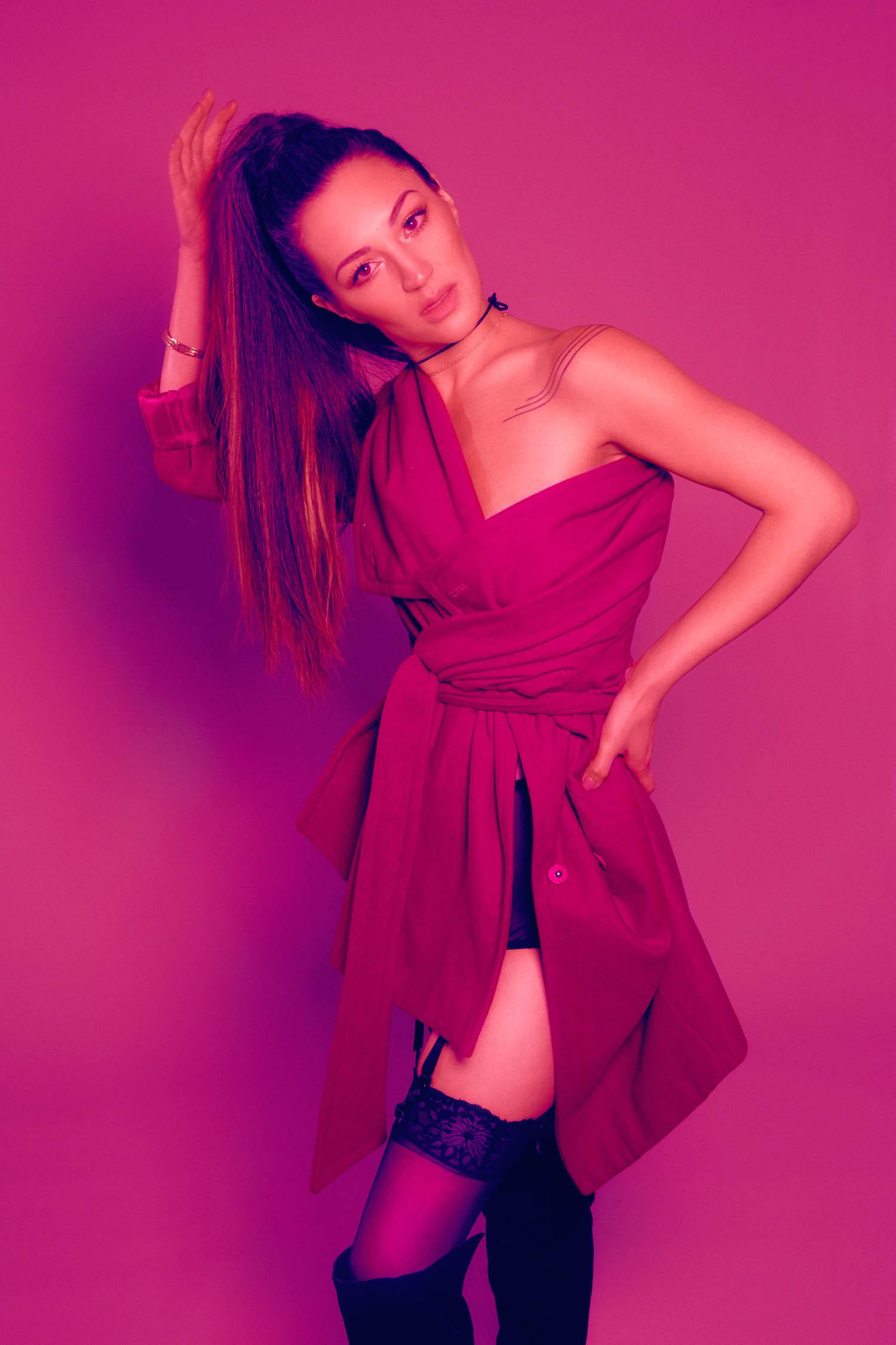 7 Rings music video inspired boudoir photography