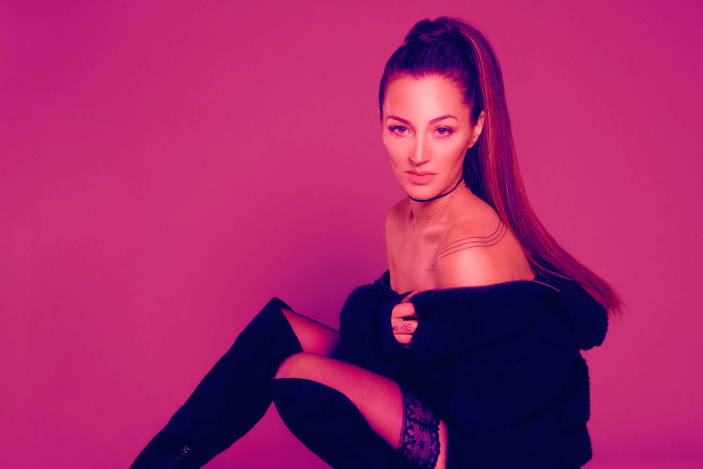 Ariana Grande themed sexy photoshoot in Anchorage, Alaska