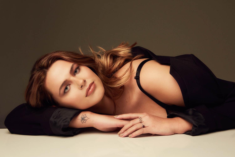 Beauty image for modeling portfolio
