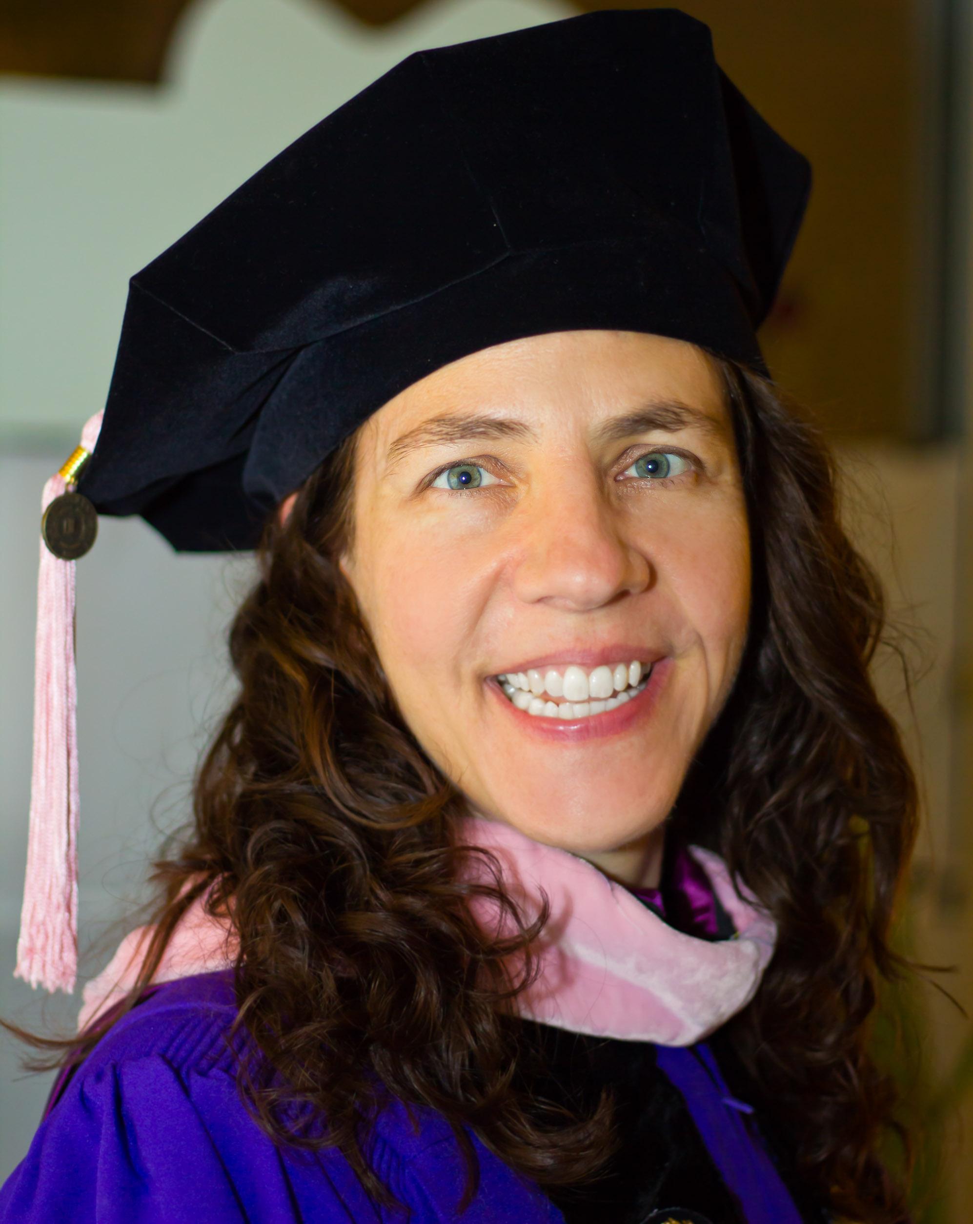 Dr. Jennifer Anne Ohlson Trowbridge graduating fromNorthwestern University