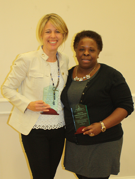 Ann townsend & Arlette ferguson-mathis, 2013/14 sustainers of the year