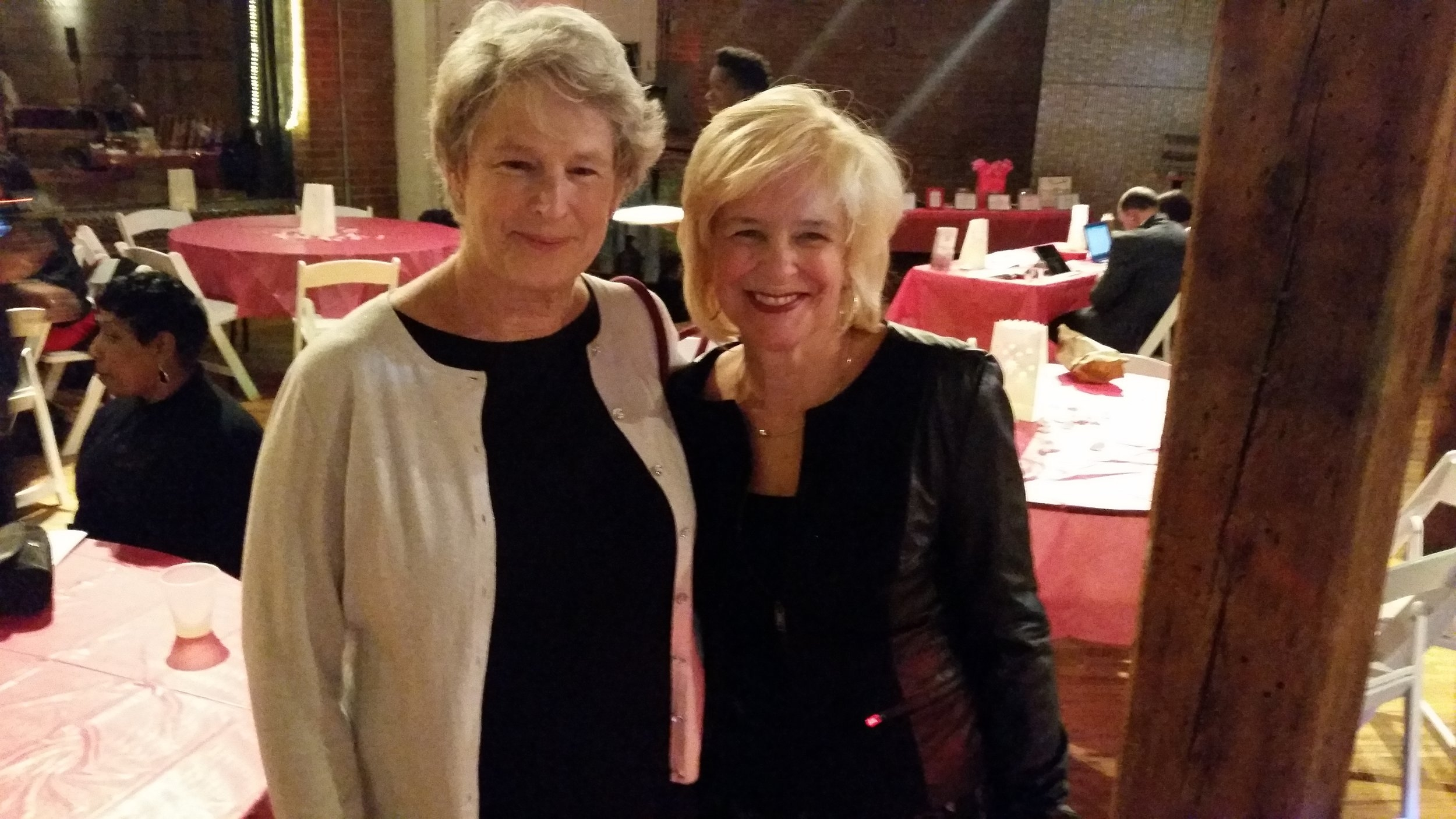 Past Presidents Dona Metcalf Laughlin and Marcia Smith